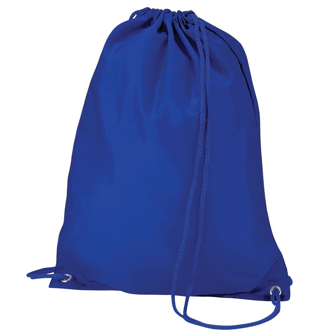 Quadra Gymsac Shoulder Carry Bag - 7 Litres (One Size) (Bright Royal)