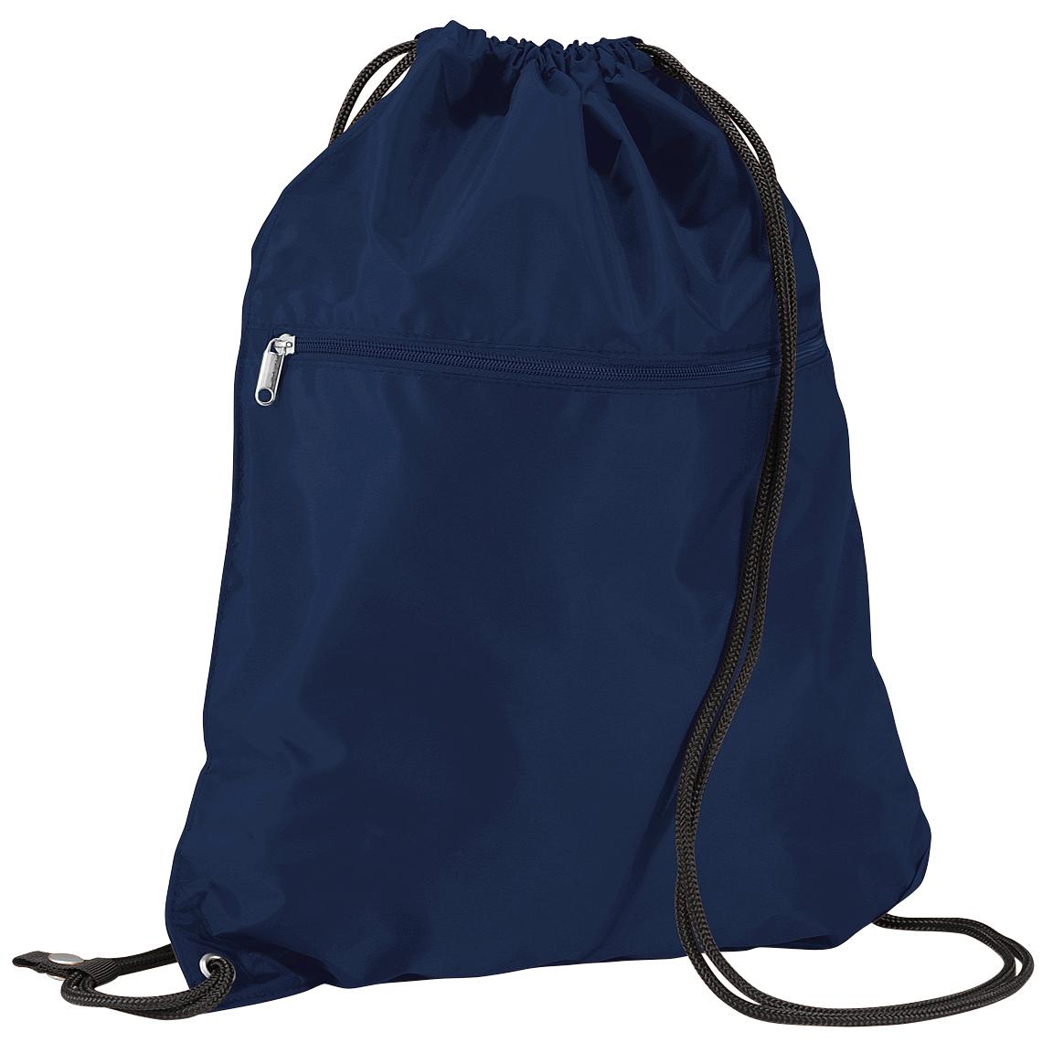 Quadra Premium Gymsac Over Shoulder Bag - 14 Litres (One Size) (French Navy)