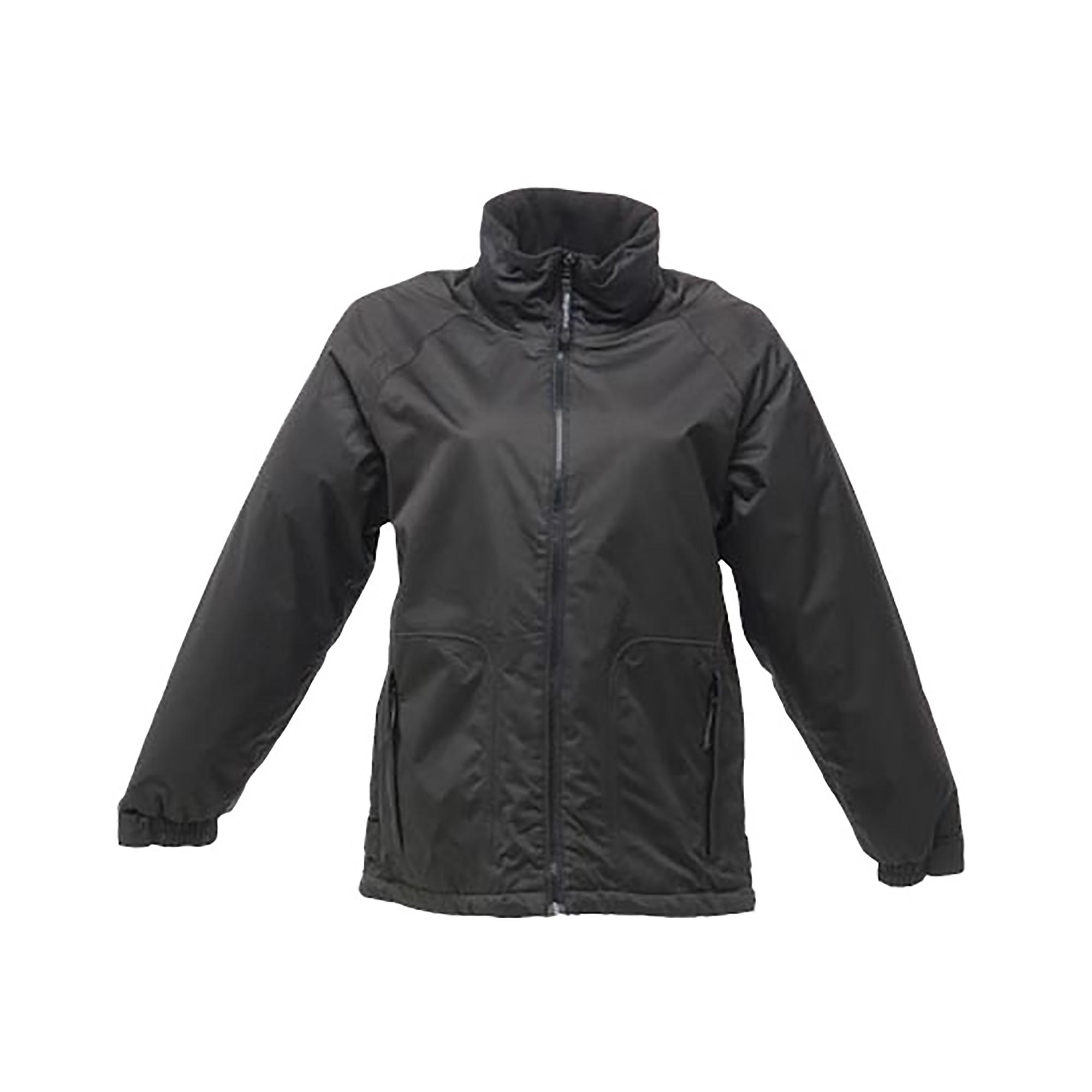 Regatta Ladies/Womens Waterproof Windproof Jacket (10 UK) (Black)