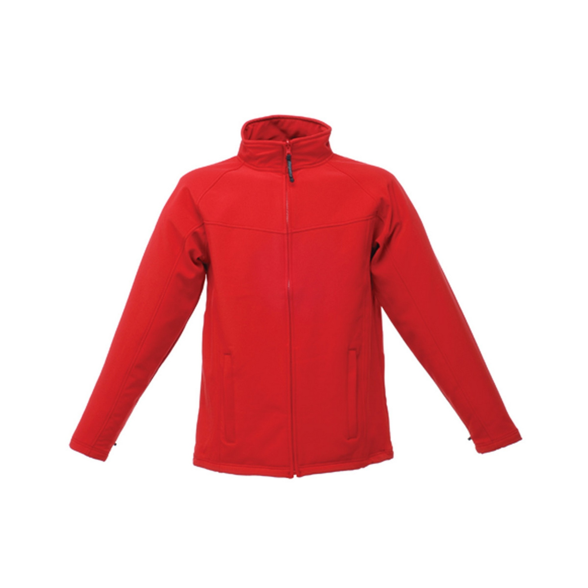 Regatta Professional Mens Uproar Softshell Wind Resistant Fleece Jacket (2XL) (Classic Red/Seal Grey)