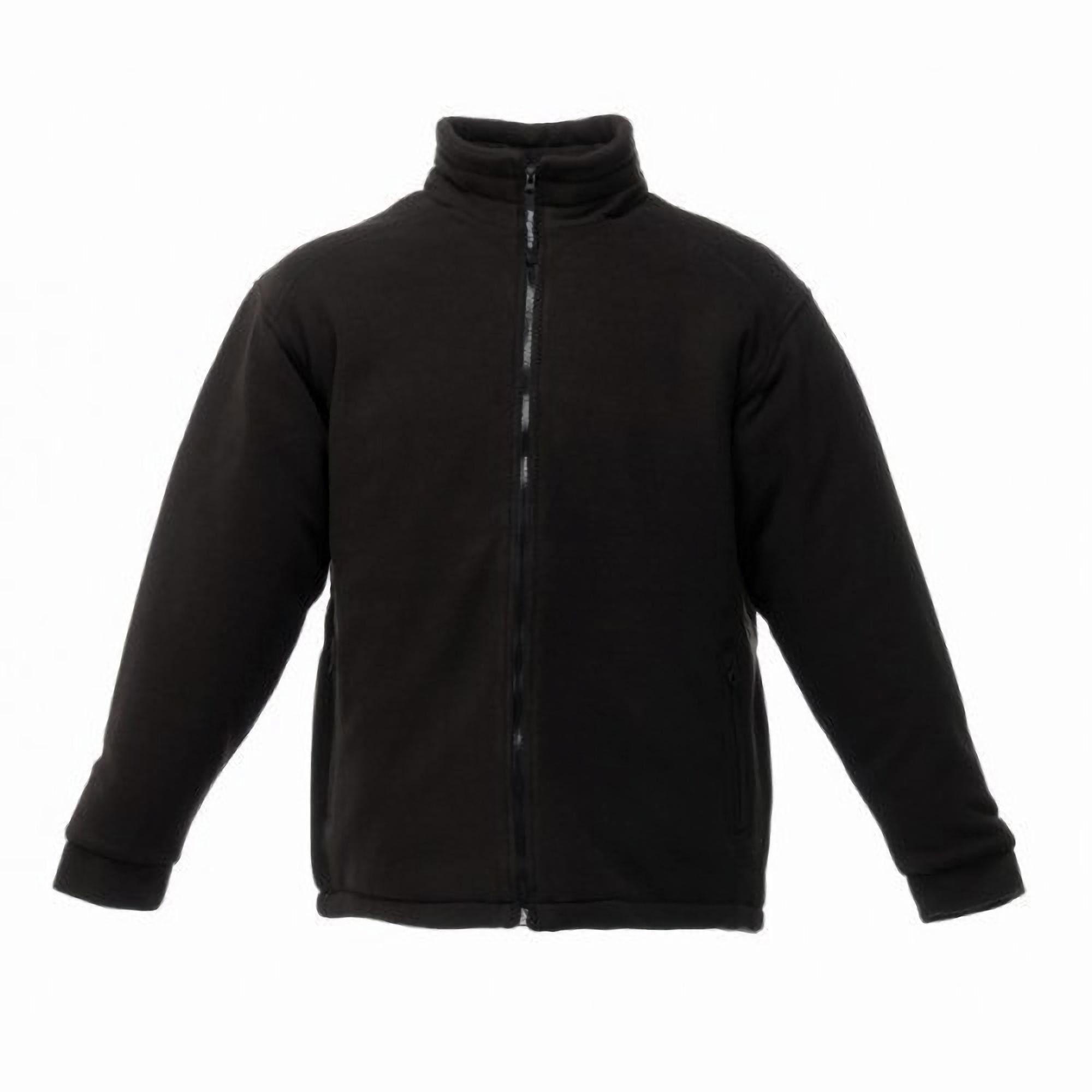 Regatta Mens Asgard II Quilted Fleece Jacket (Thermo-guard Insulation) (3XL) (Black)