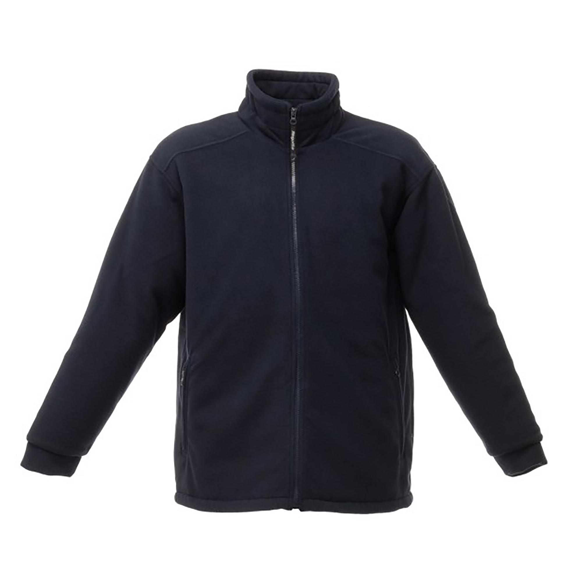 Regatta Mens Asgard II Quilted Fleece Jacket (Thermo-guard Insulation) (S) (Dark Navy)