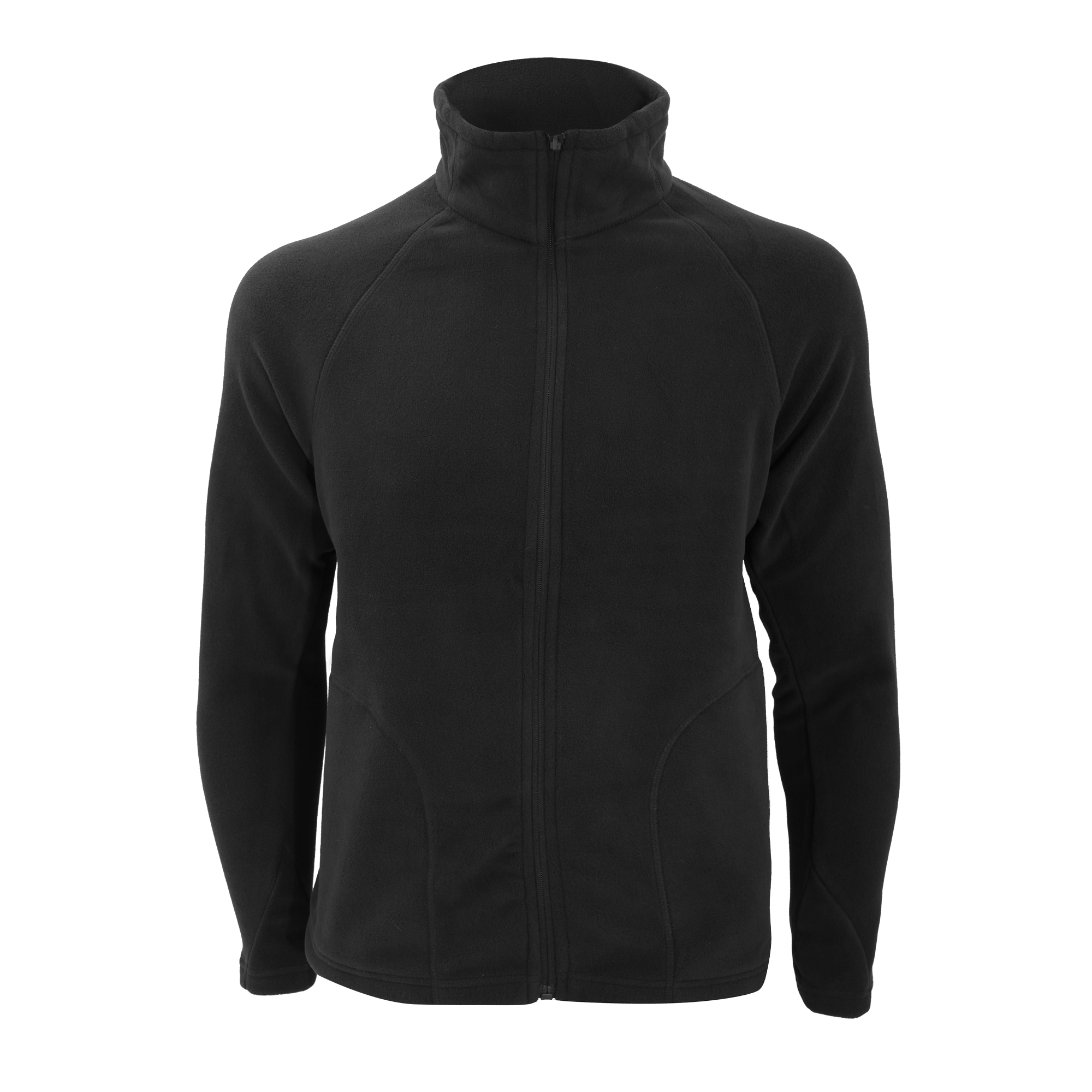 Result Core Mens Micron Anti Pill Fleece Jacket (S) (Black)