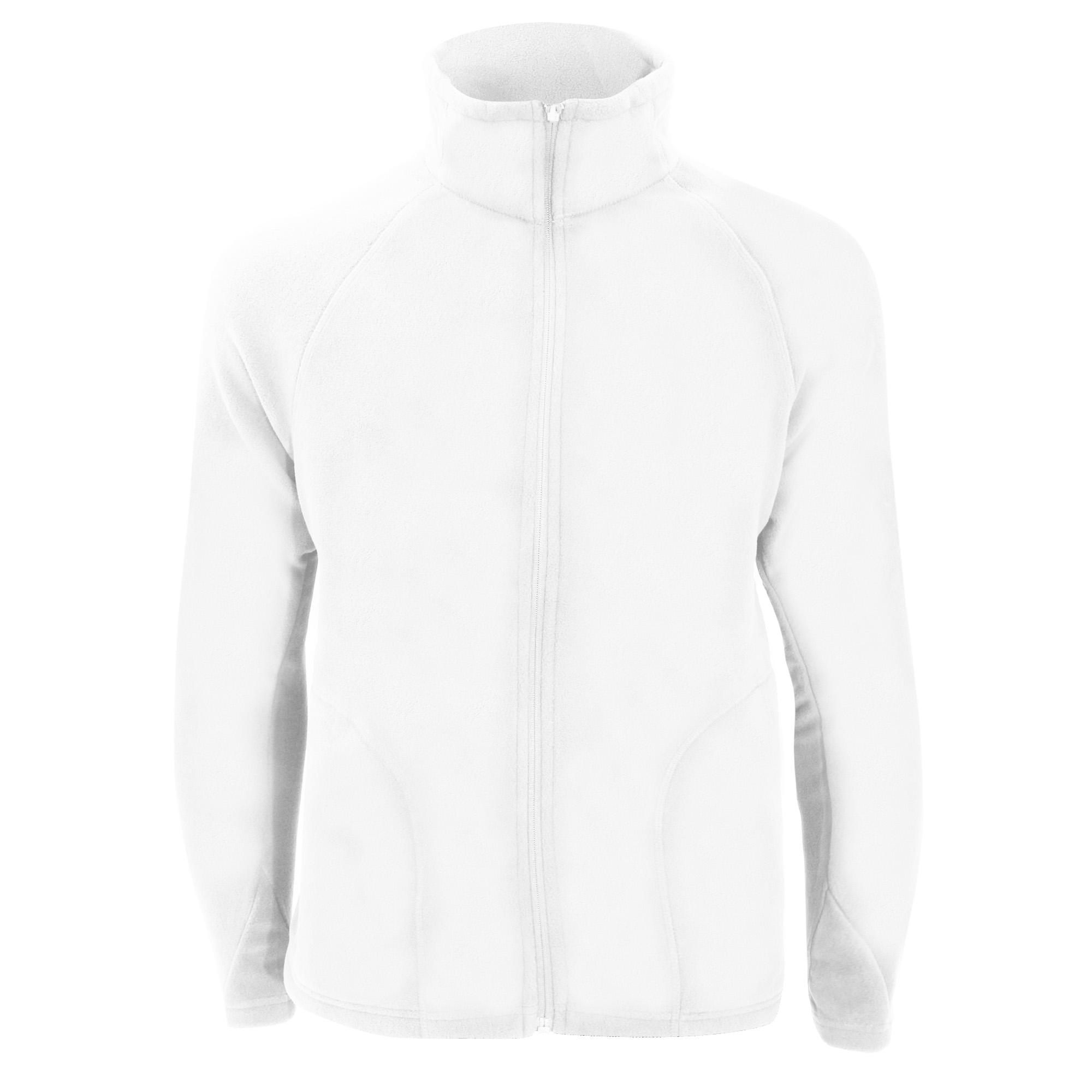 Result Core Mens Micron Anti Pill Fleece Jacket (S) (White)