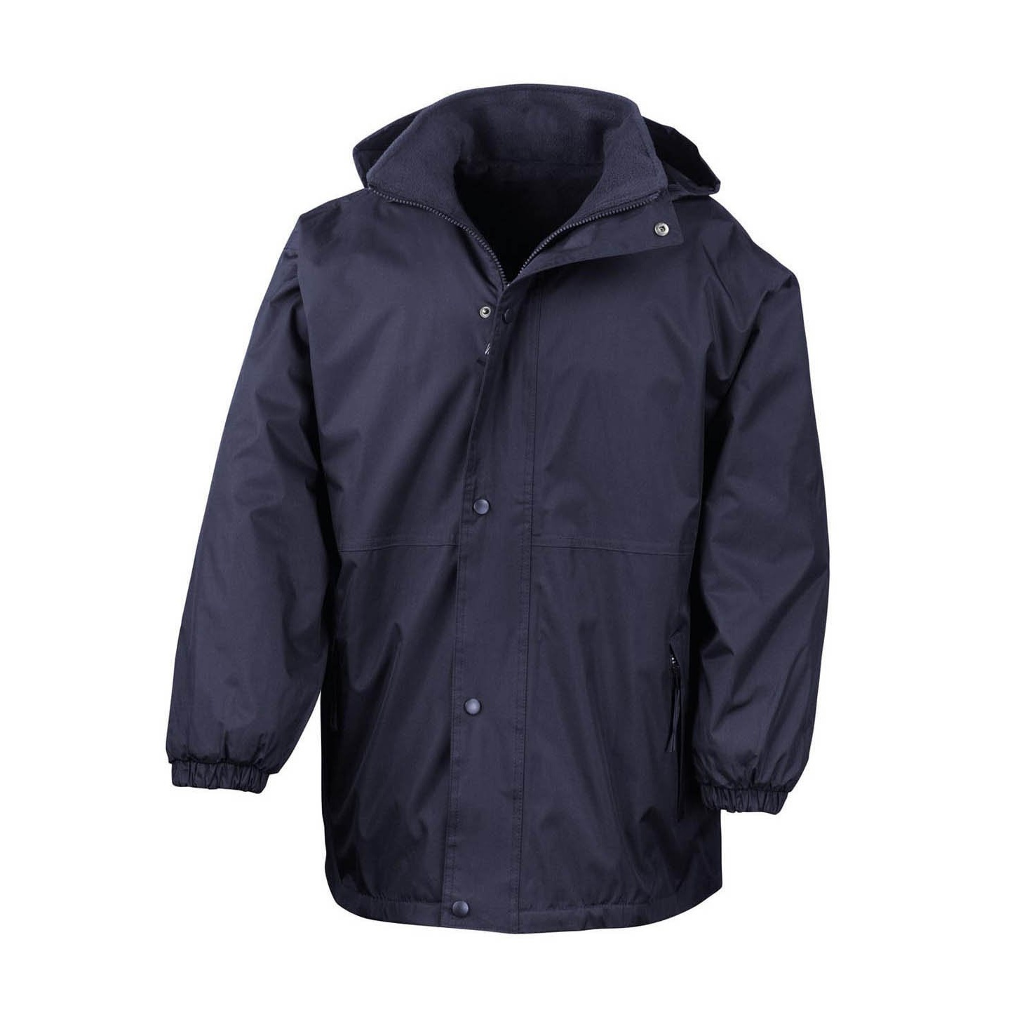 Result Mens Reversible StormDri 4,000 Waterproof Windproof Anti Pilling Fleece Jacket (3XL) (Navy/Navy)