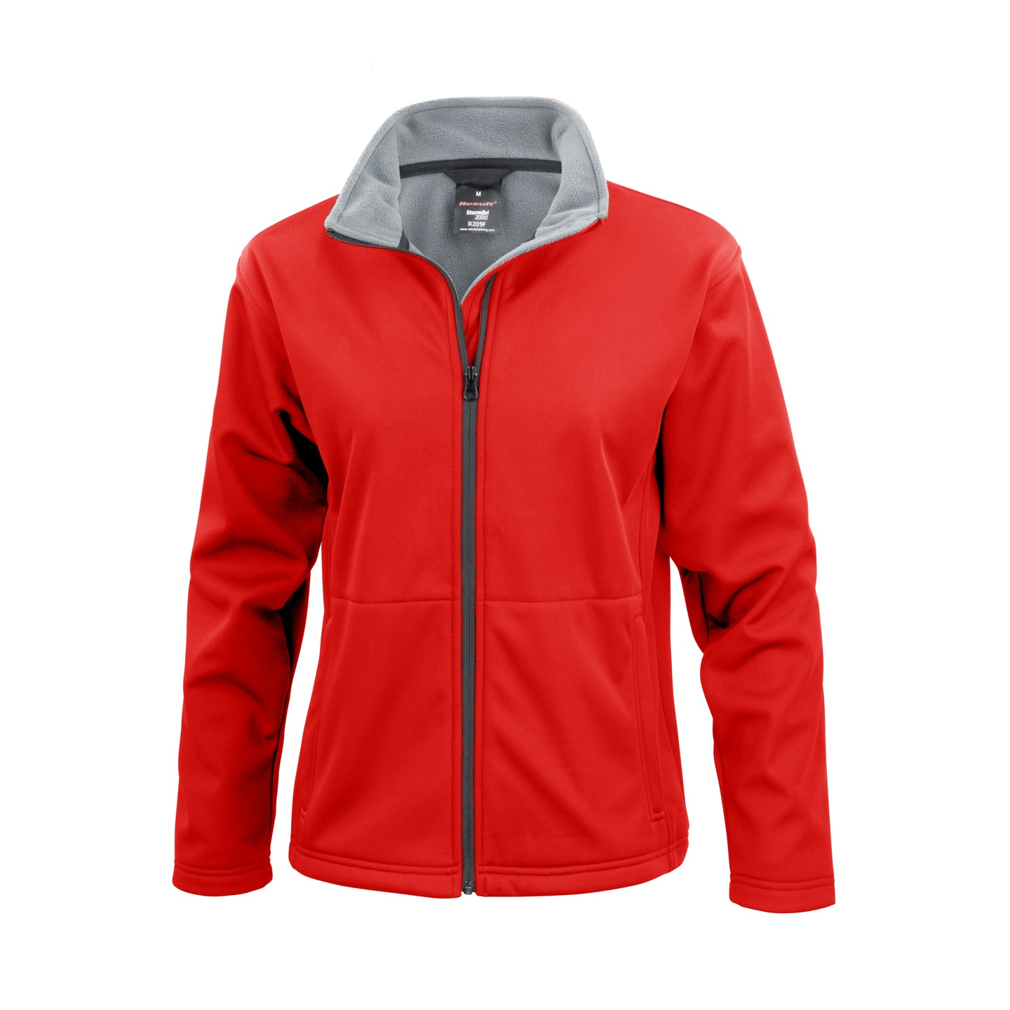 Result Core Ladies Soft Shell Jacket (L) (Red)