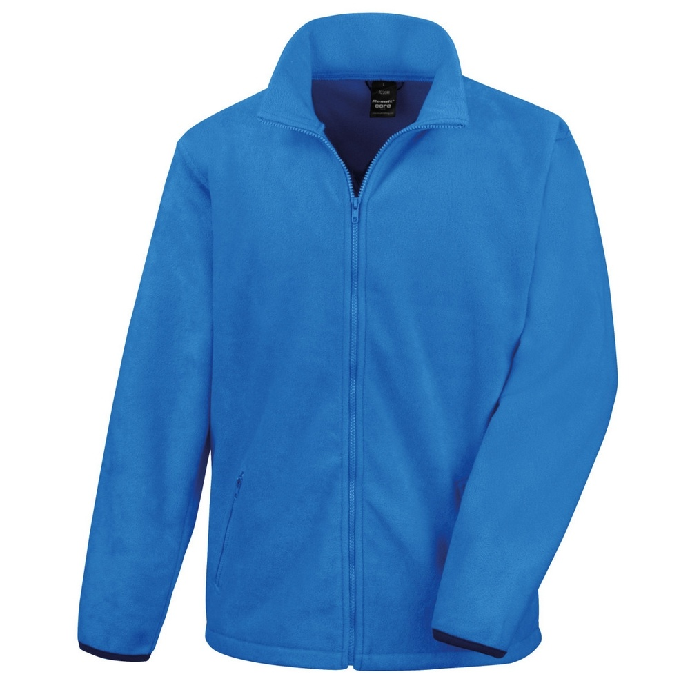 Result Mens Core Fashion Fit Outdoor Fleece Jacket (3XL) (Electric Blue)