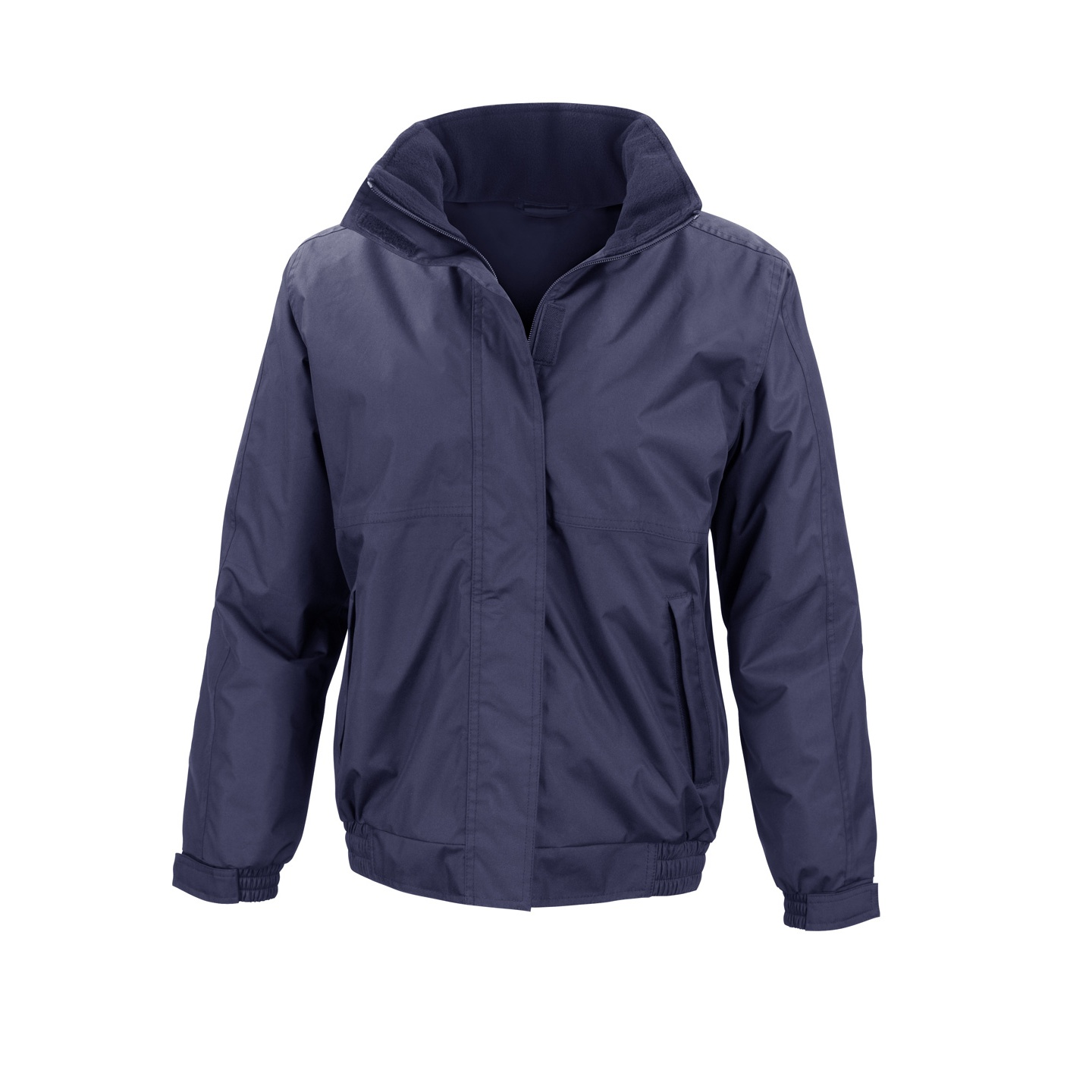 Result Core Ladies Channel Jacket (S) (Navy Blue)