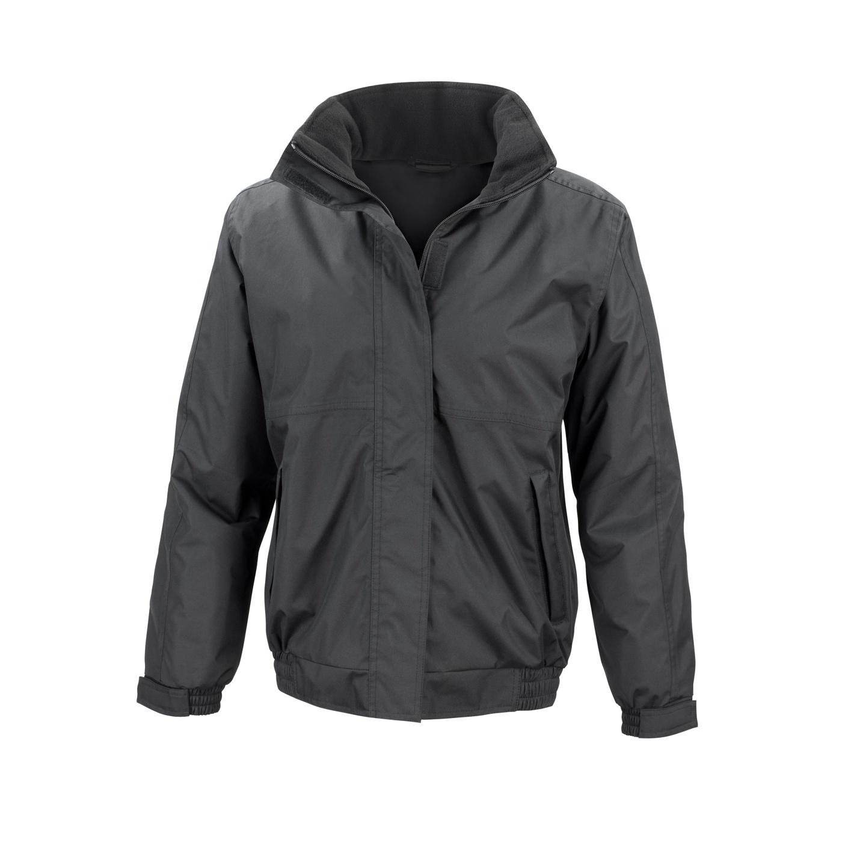 Result Core Ladies Channel Jacket (XS) (Black)