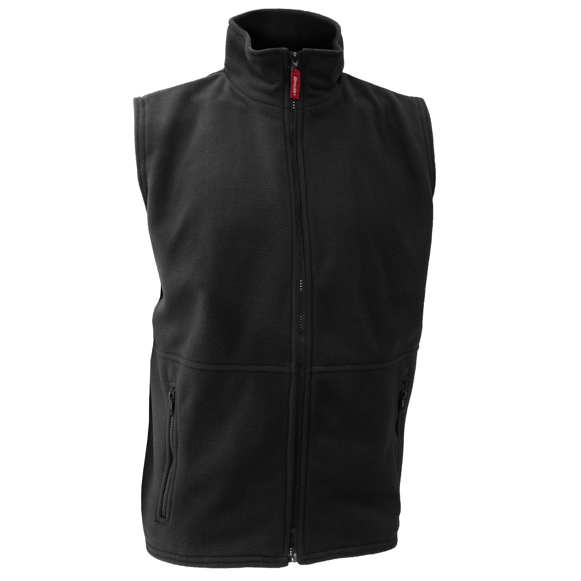 Result Mens Active Anti Pilling Fleece Bodywarmer Jacket (XL) (Black)