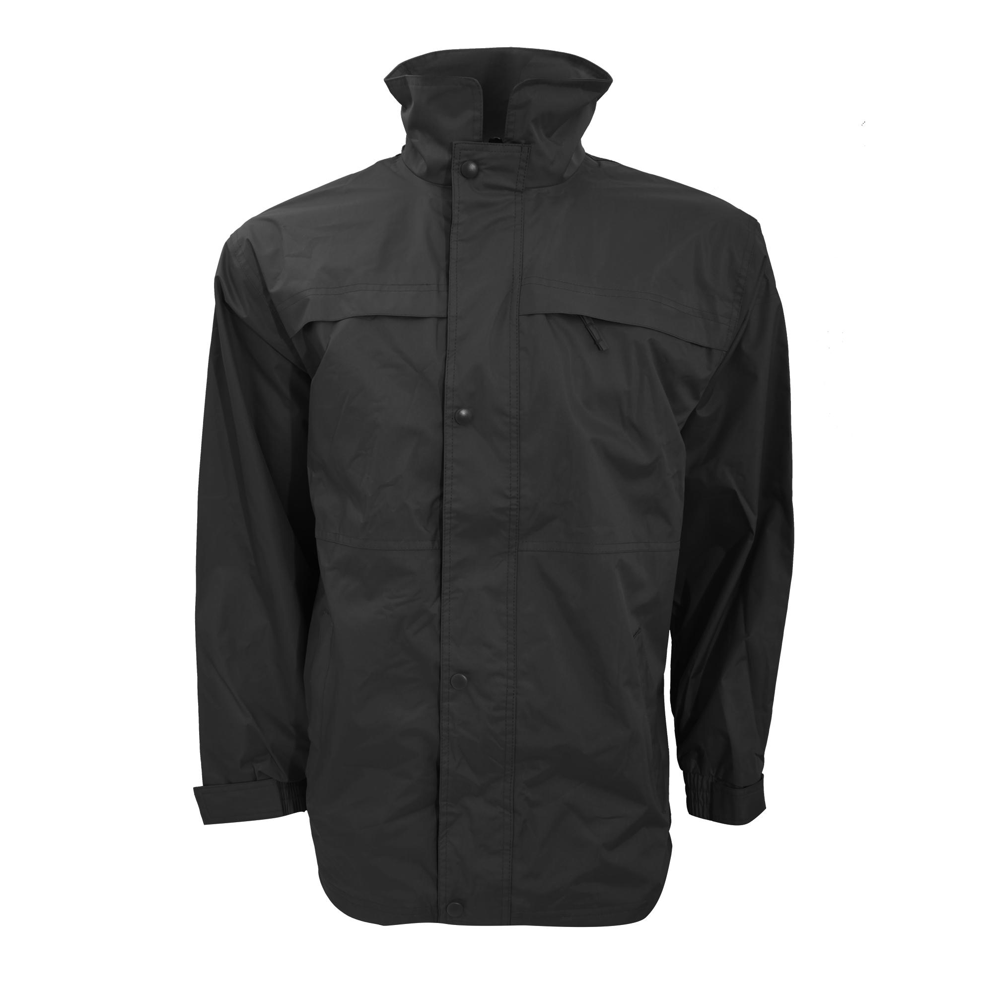Result Mens Mid-Weight Multi-Function Waterproof Windproof Jacket (2XL) (Black/Grey)