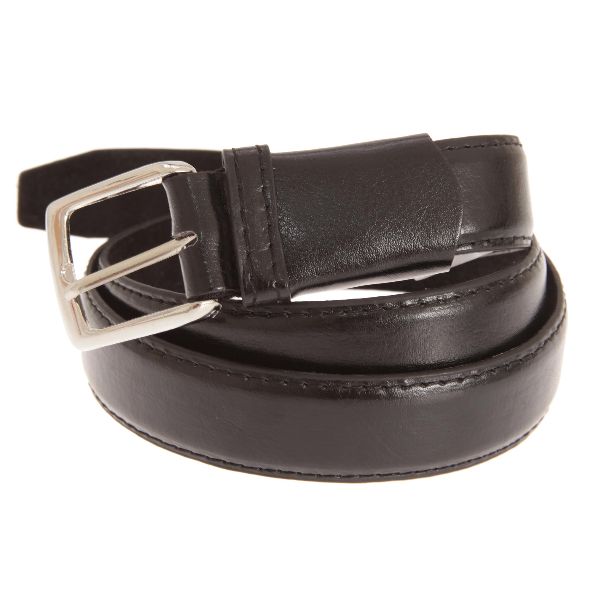 Forest-Belts-Mens-Plain-Leather-Belt-BL166