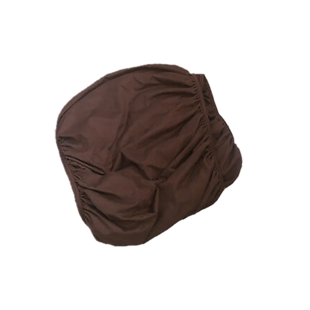 Belledorm Faux Suede Divan Base Wrap (19in) (Kingsize) (Chocolate)
