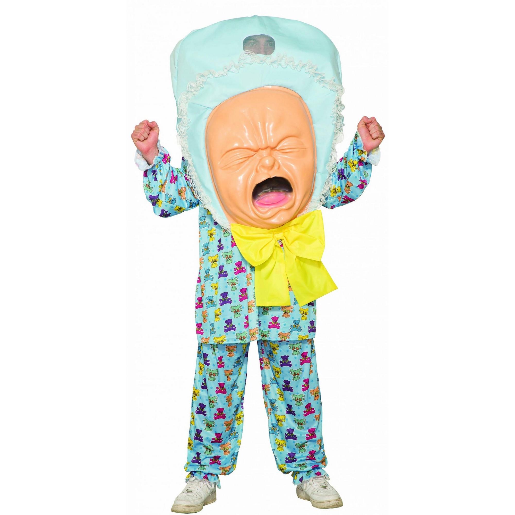 Bristol Novelty Unisex Adults Big Baby Costume (One Size) (Multicoloured)