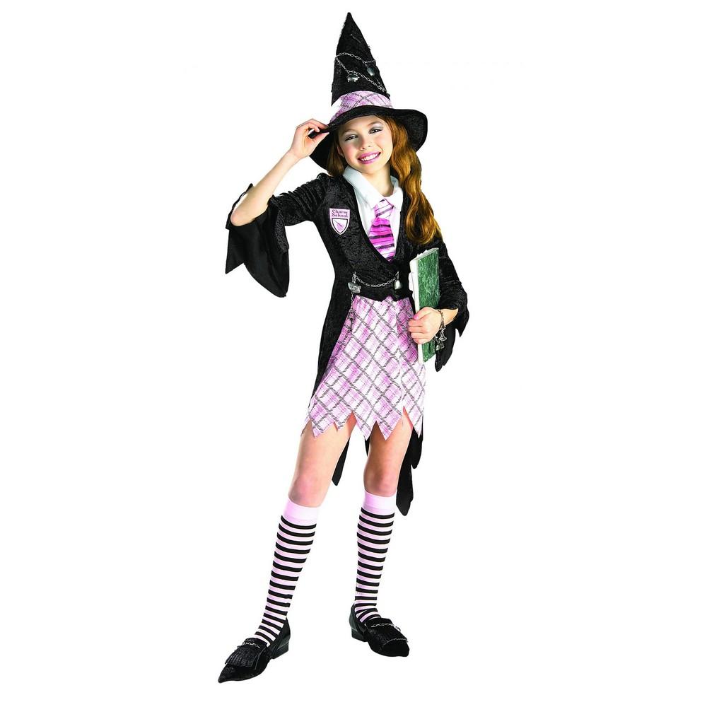 Bristol Novelty Childrens/Kids Charm School Witch Costume (S) (Multicoloured)