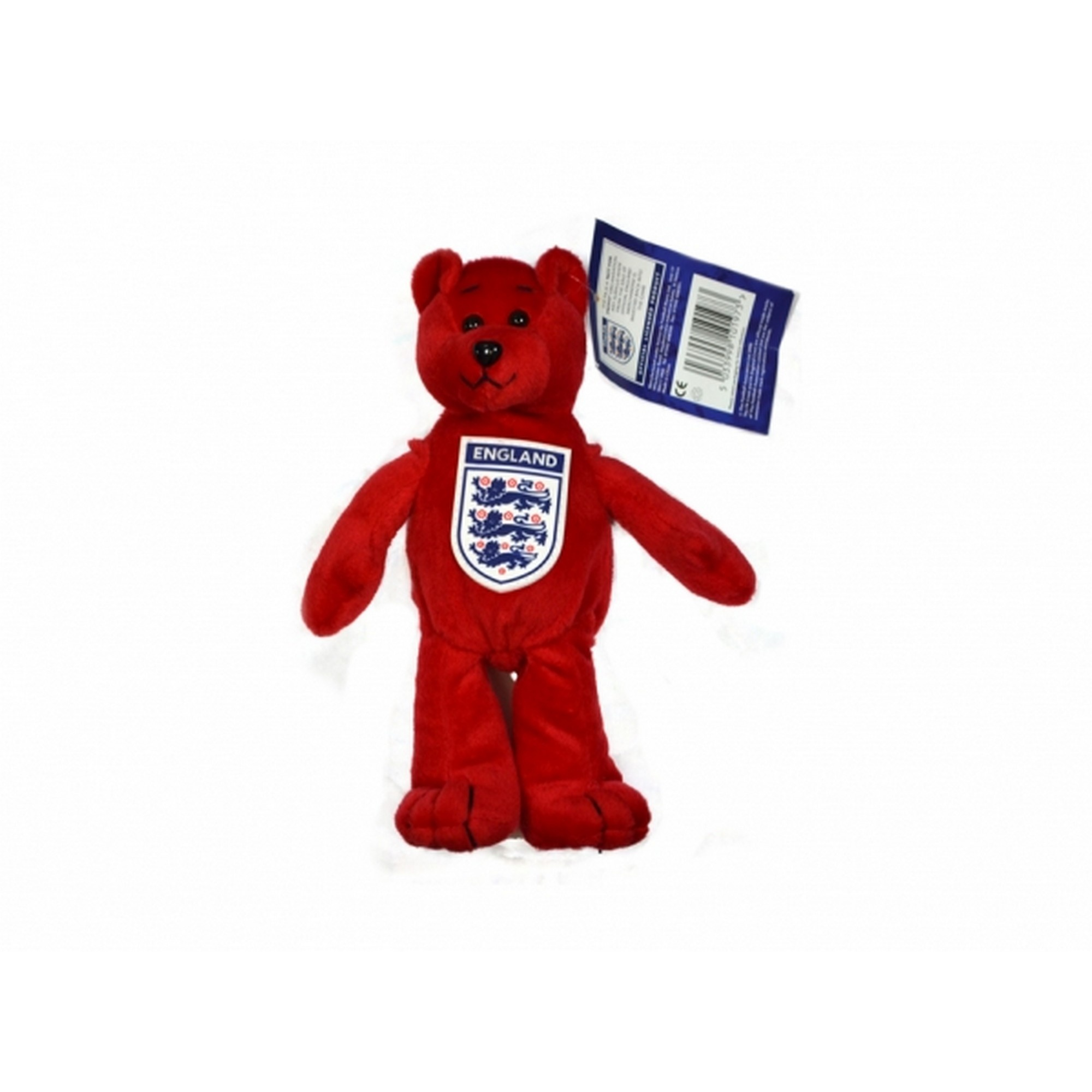 England Official Football Mini Bear (One Size) (Red)