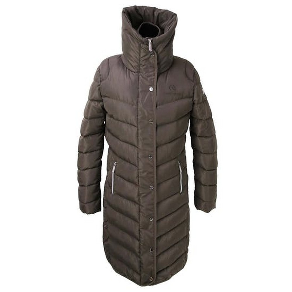 Coldstream Womens/Ladies Kimmerston Long Quilted Coat (XL) (Taupe)