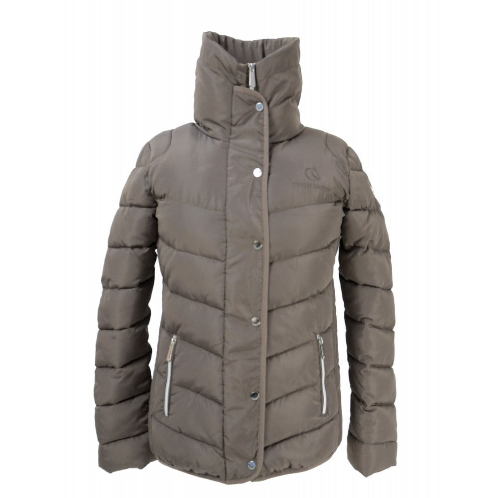 Coldstream Womens/Ladies Kimmerston Quilted Coat (XL) (Taupe)