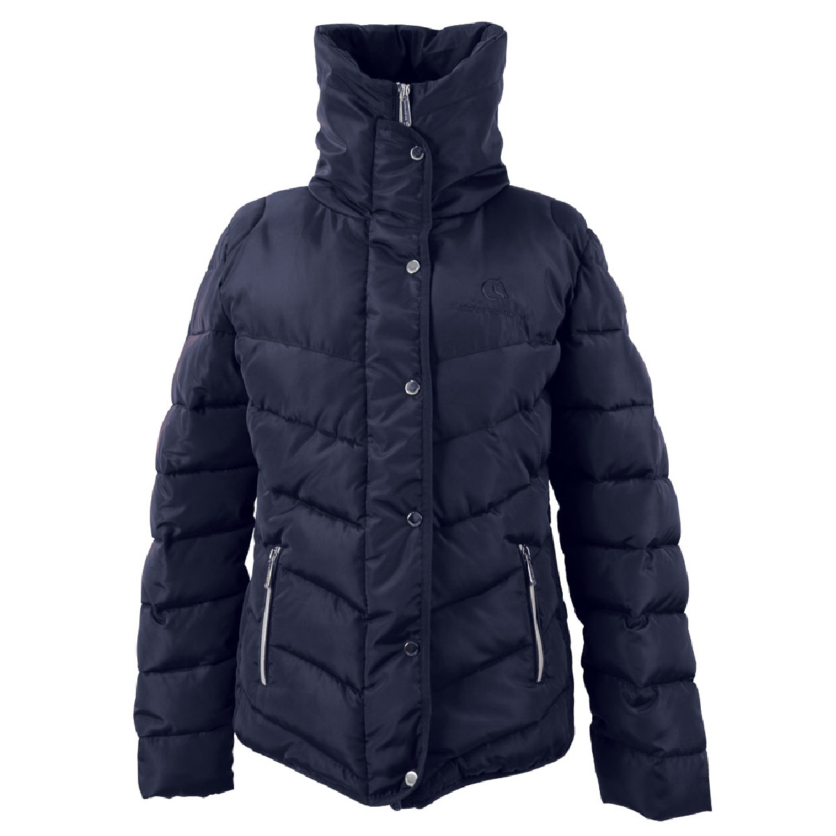 Coldstream Womens/Ladies Kimmerston Quilted Coat (L) (Navy)