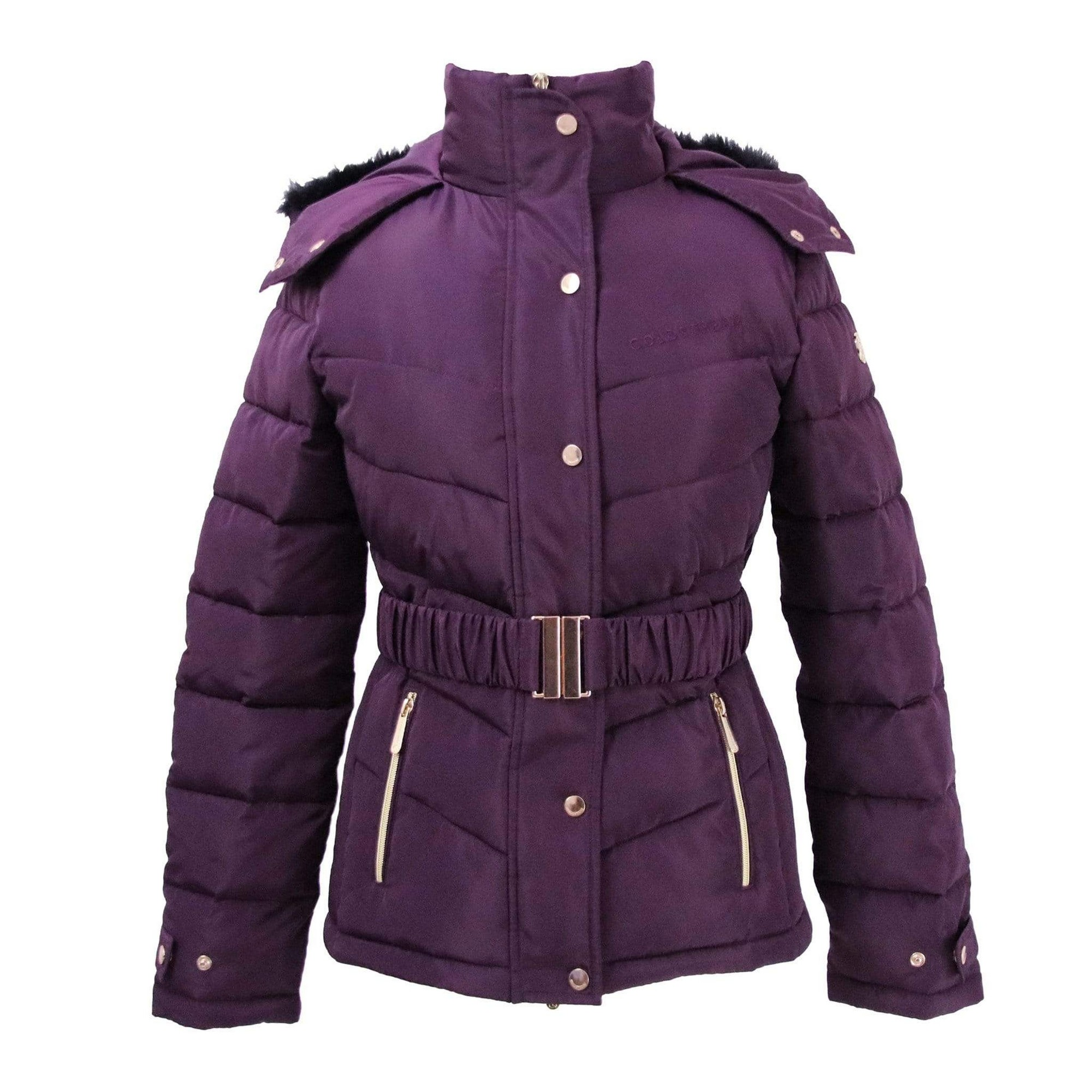 Coldstream Womens/Ladies Cornhill Quilted Coat (XS) (Purple)