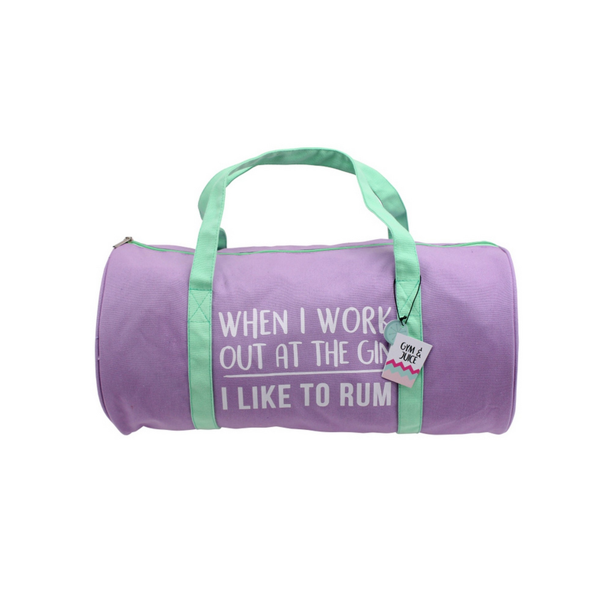 173ba33b9e21 Details about CGB Giftware Gym And Tonic I Like To Rum Duffle Bag (CB609)