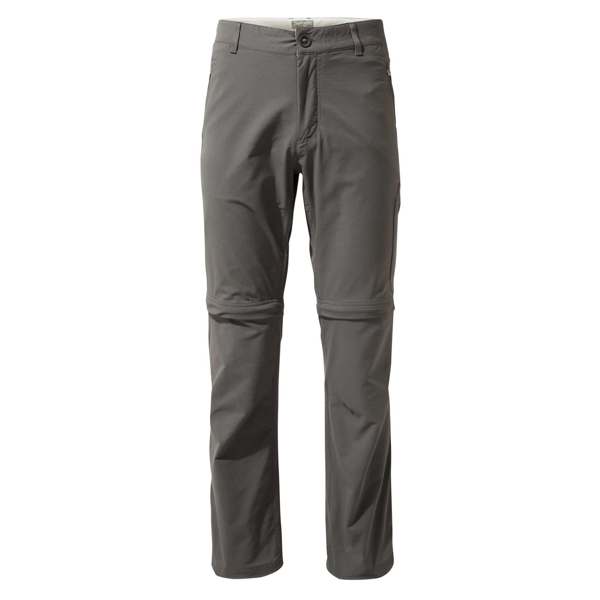 Craghoppers Mens NosiLife Pro Convertible II Trousers (34S) (Pebble)