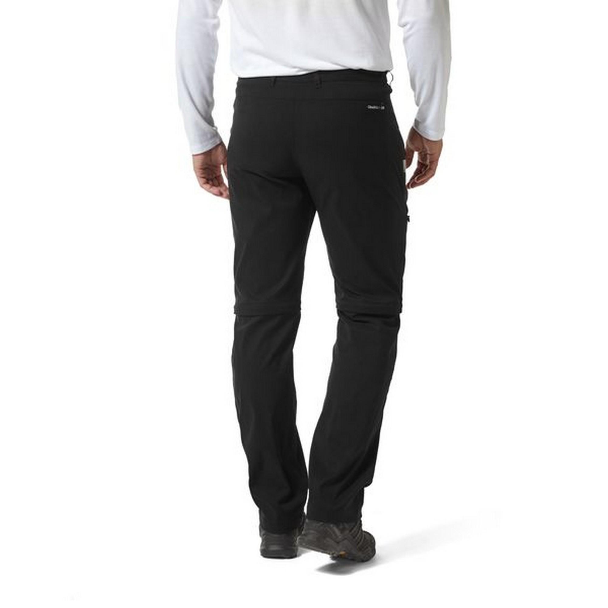 Craghoppers Mens Kiwi Pro II Trousers Black