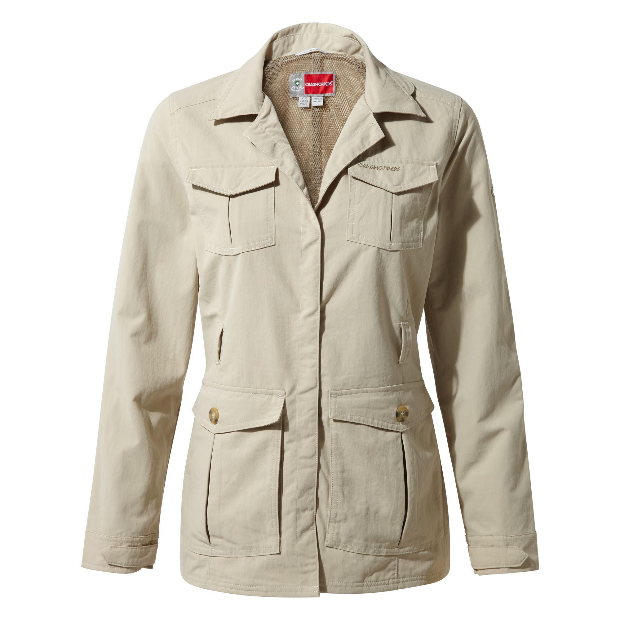 Craghoppers Womens/Ladies NosiLife Lucca Jacket (8 UK) (Desert Sand)