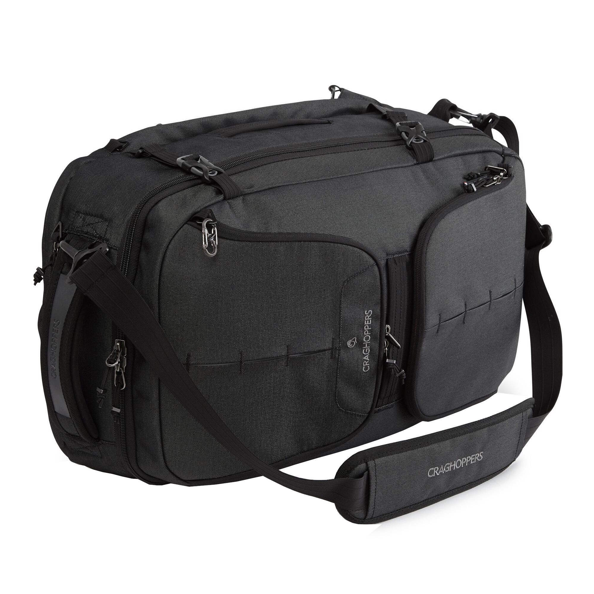 Craghoppers 40L Hybrd Holdall (One Size) (Black)