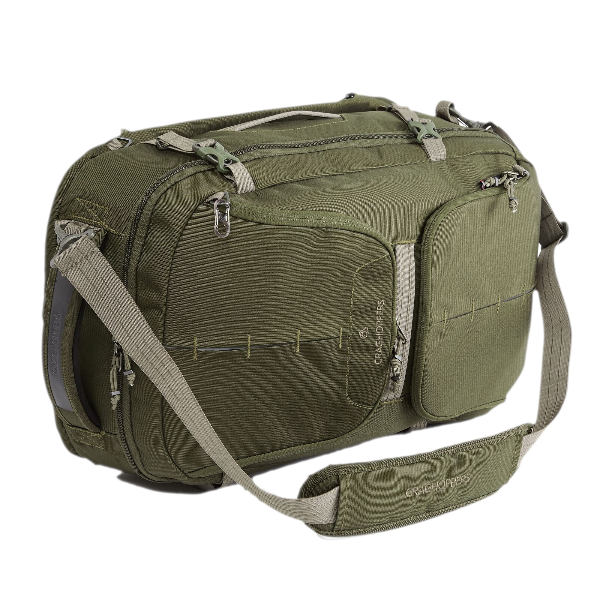 Craghoppers 40L Hybrd Holdall (One Size) (Woodland Green)