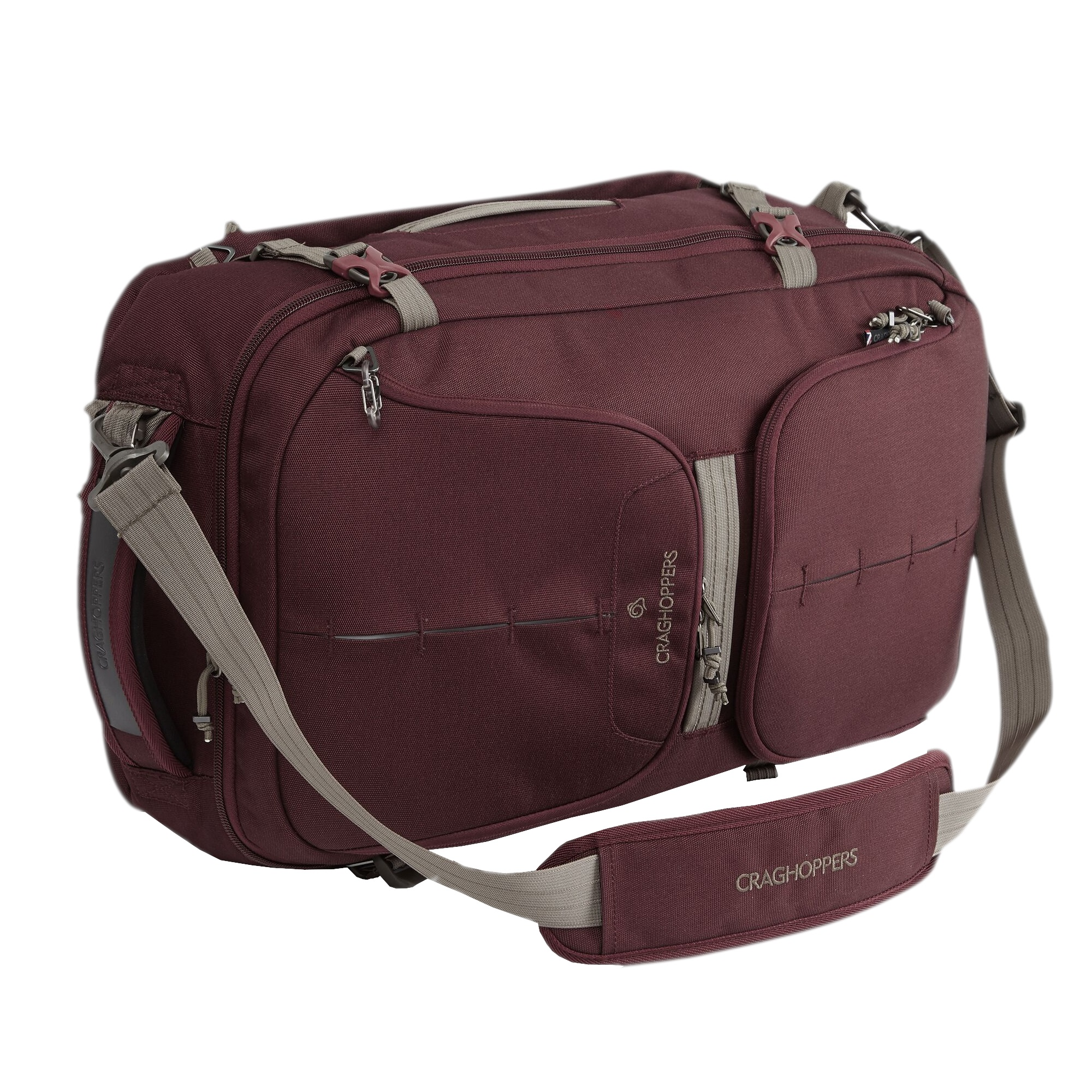 Craghoppers 40L Hybrd Holdall (One Size) (Brick Red)