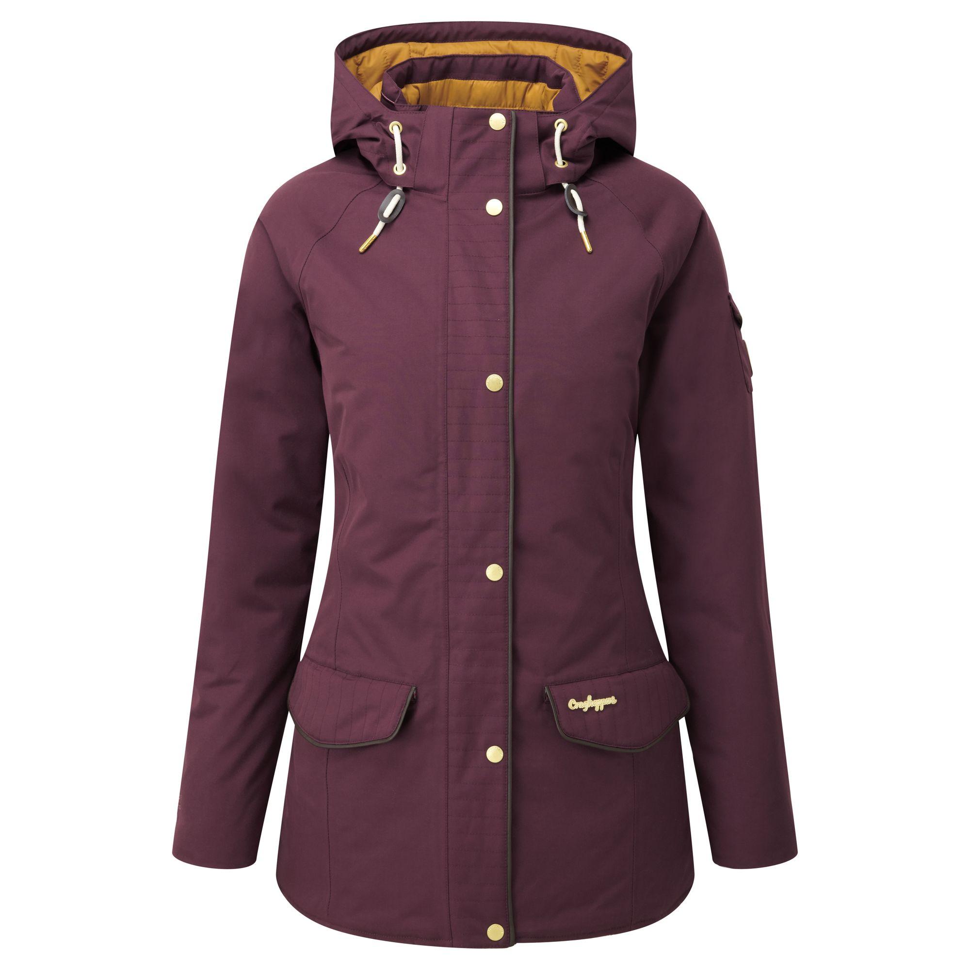 Craghoppers Womens/Ladies 250 Hooded Waterproof Winter Jacket
