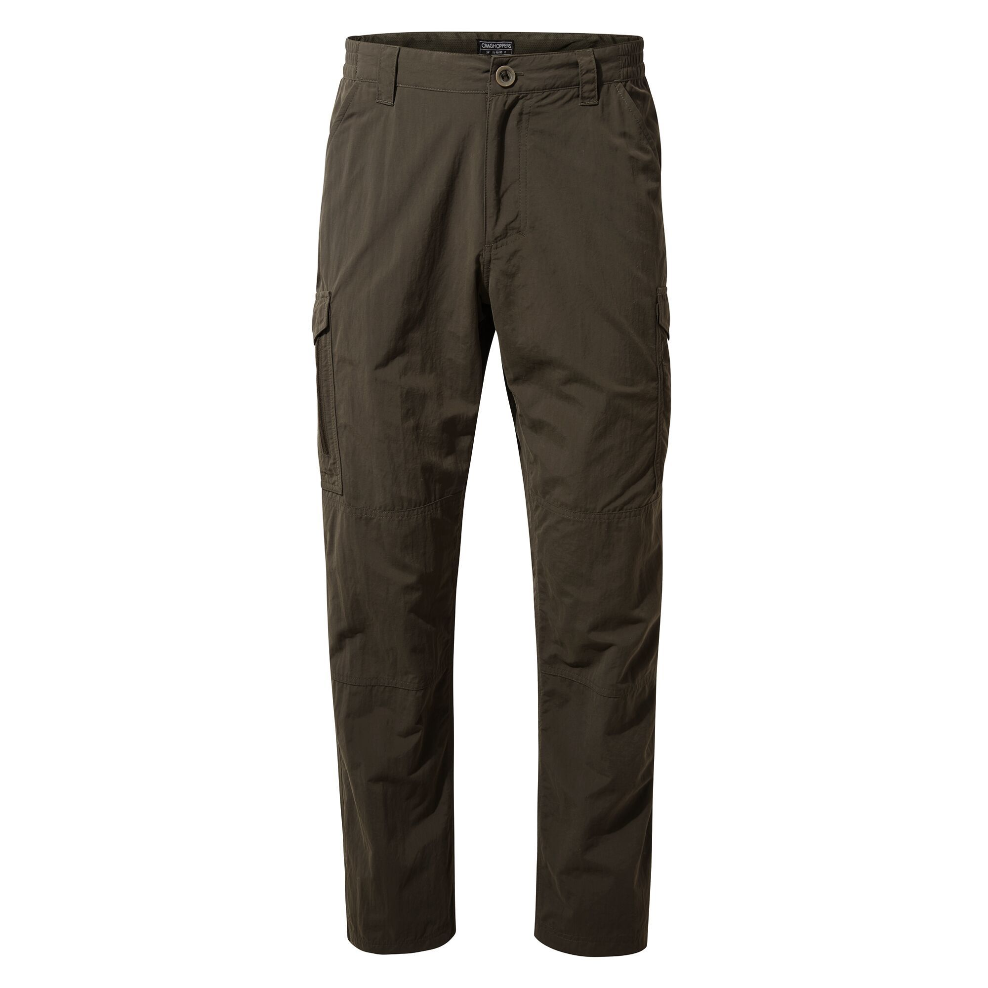 Craghoppers Mens Cargo Trousers (42S) (Woodland Green)
