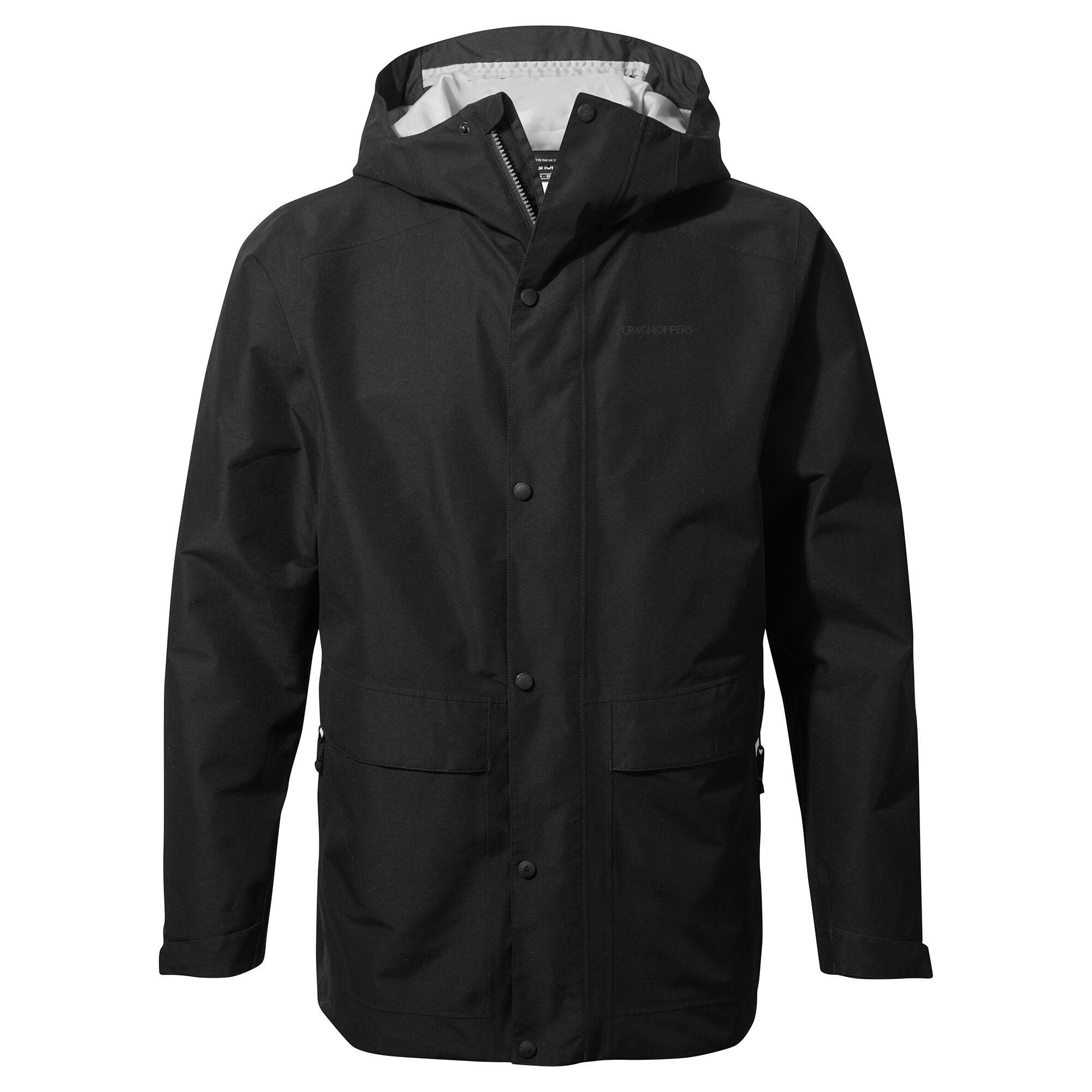 Craghoppers Mens Talo GORE-TEX Jacket (XL) (Black)