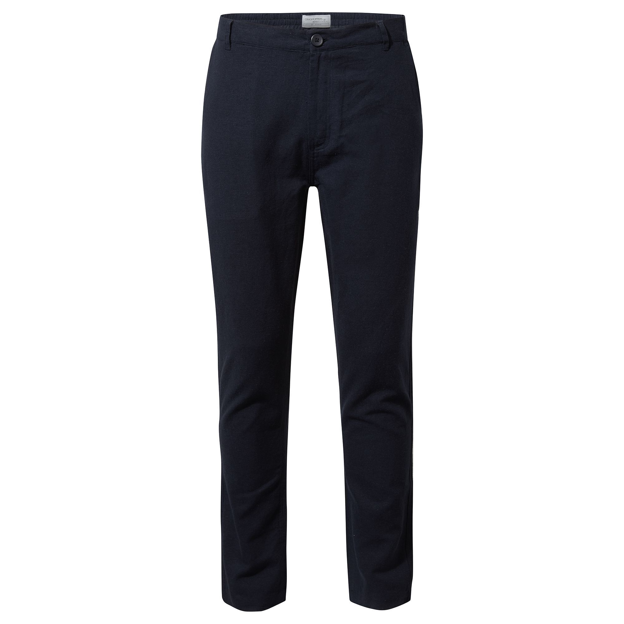 Craghoppers Mens Kier Sleek Trousers (40S) (Navy)