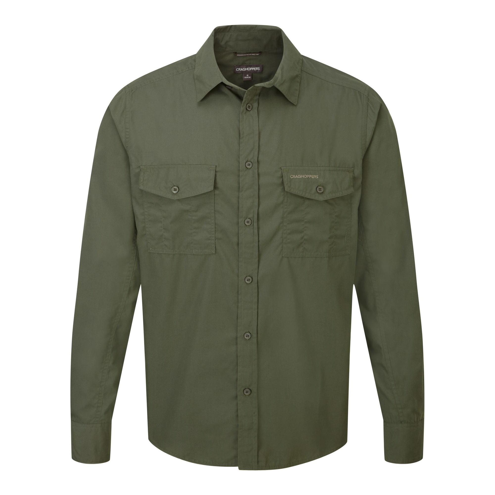 Craghoppers-Camiseta-de-manga-larga-modelo-Kiwi-para-hombre-CG180