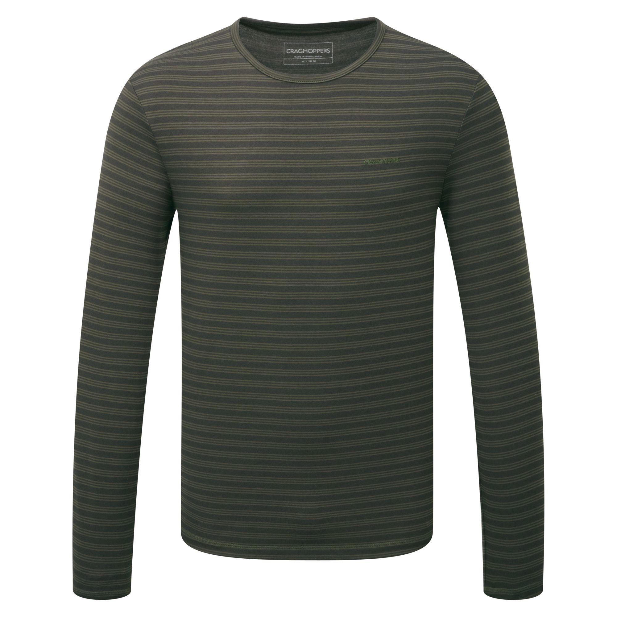 Craghoppers-Camiseta-de-manga-larga-modelo-Bentley-para-hombre-CG226