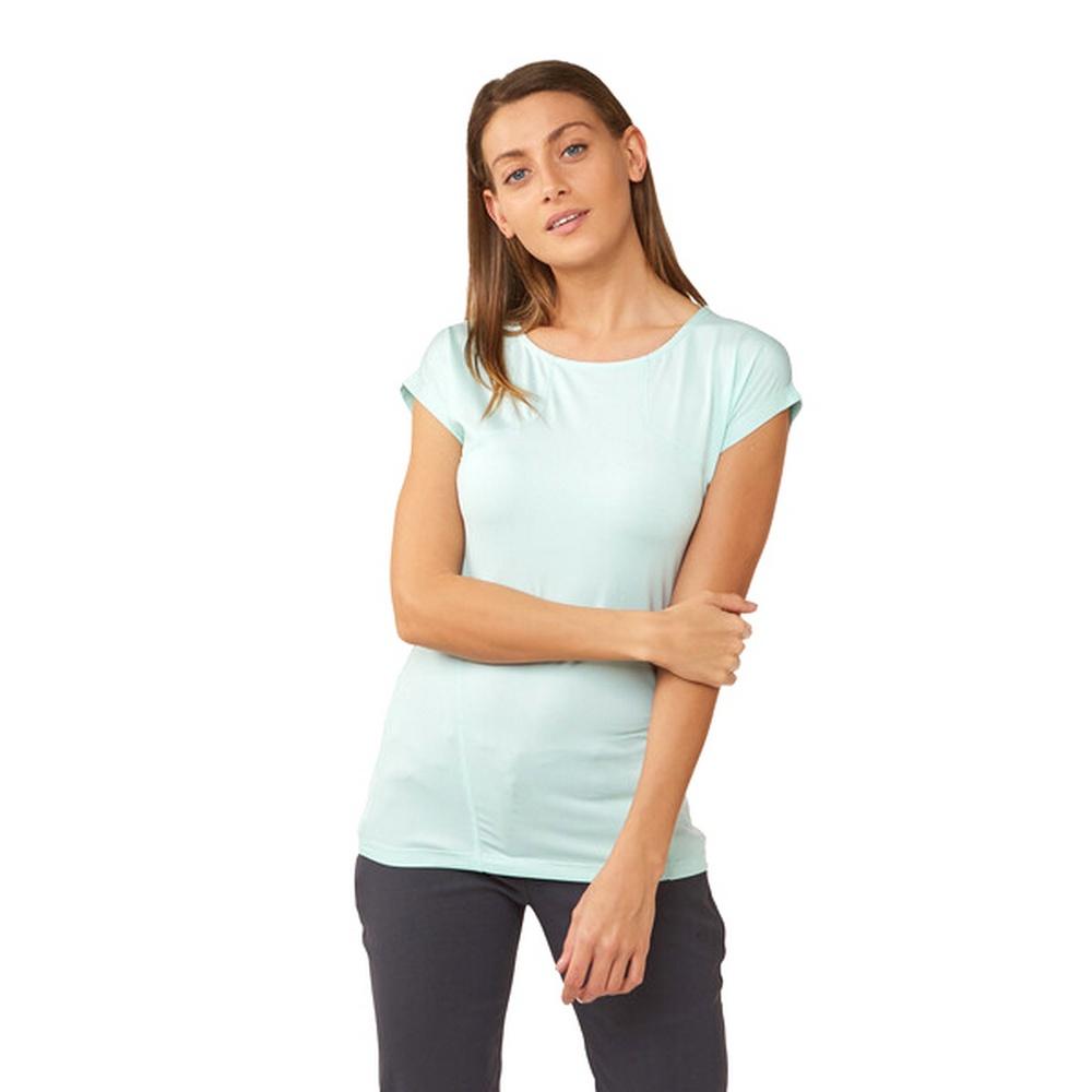 Craghoppers Womens/Ladies Fusion Technical Short Sleeve T-Shirt (8 UK) (Capri Blue)