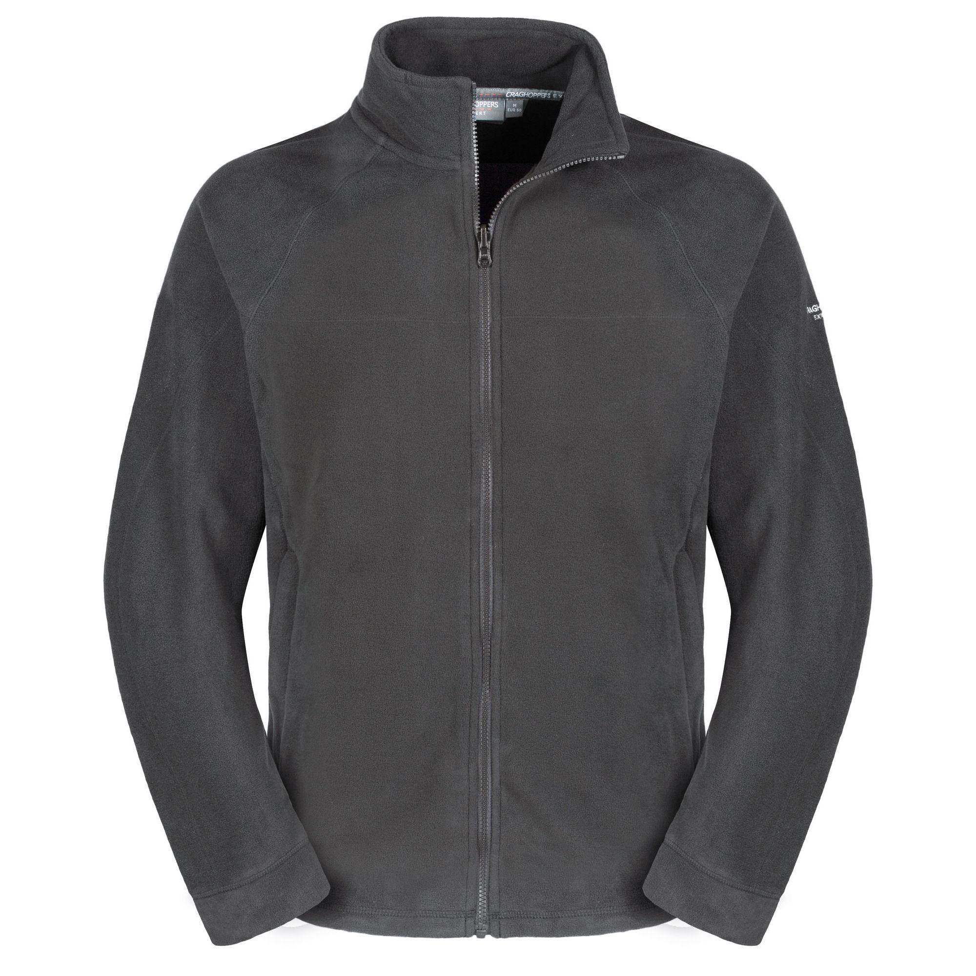 Craghoppers Mens Expert Basecamp Microfleece Full Zip Jacket (XXL) (Granite)