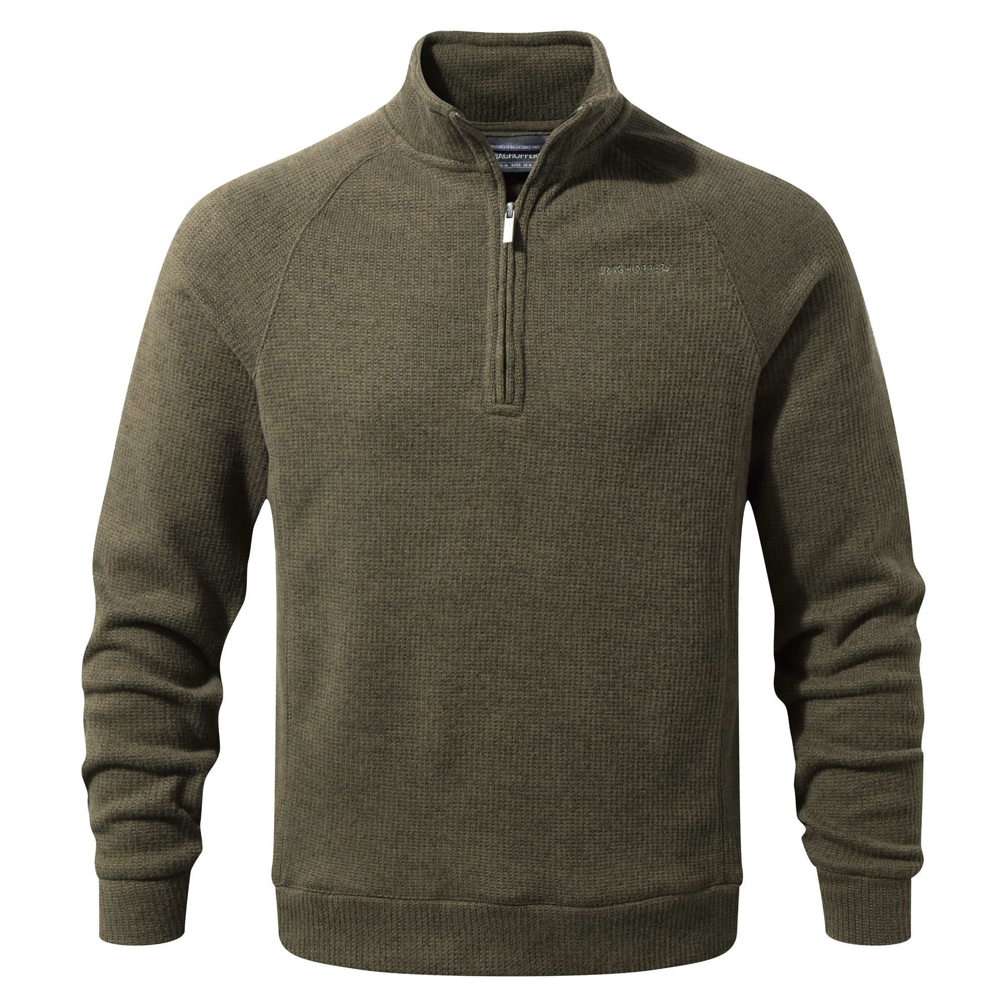 Craghoppers-Mens-Norton-Half-Zip-Fleece-CG796