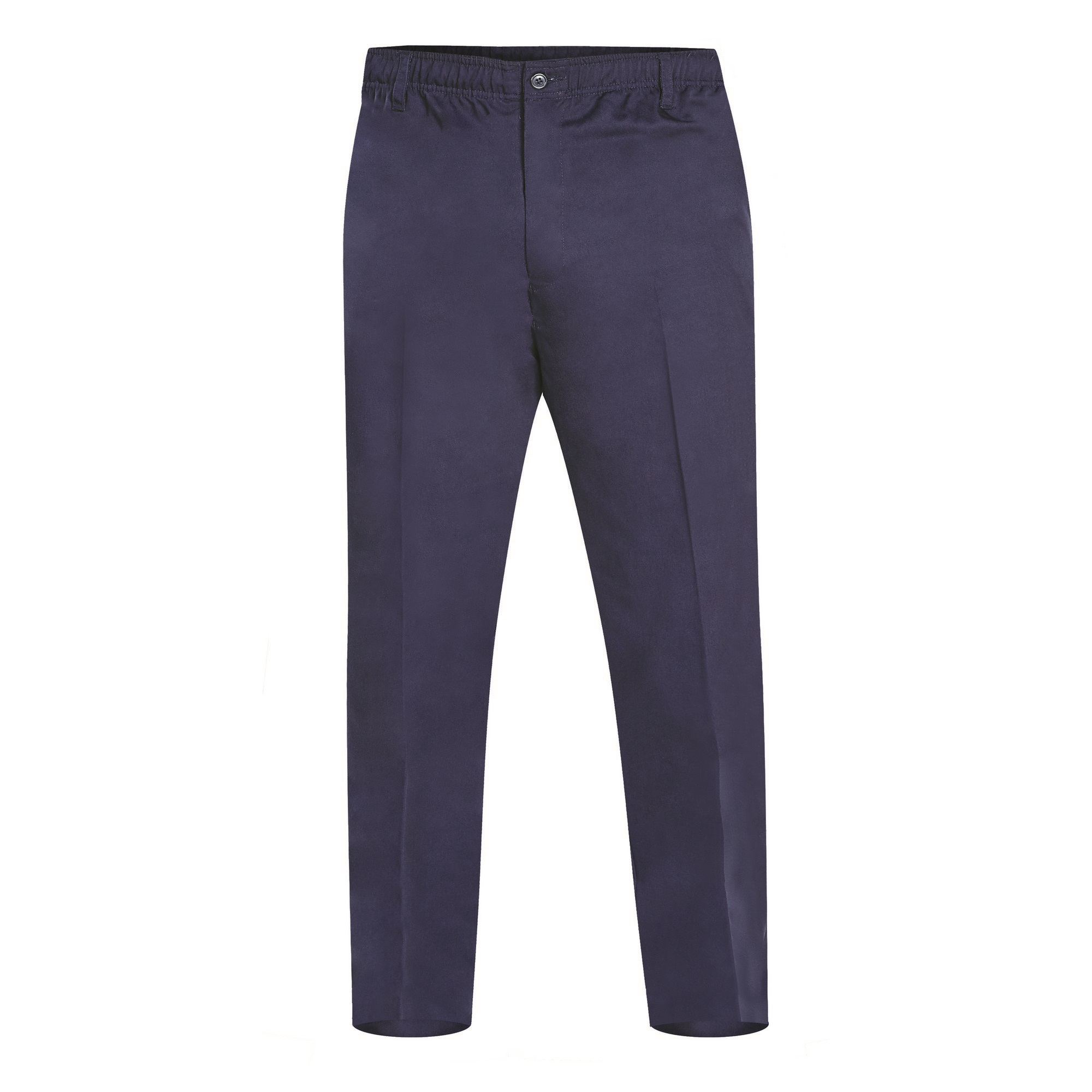 Duke Mens Basilio D555 Full Elastic Waist Rugby Trousers (38R) (Navy)