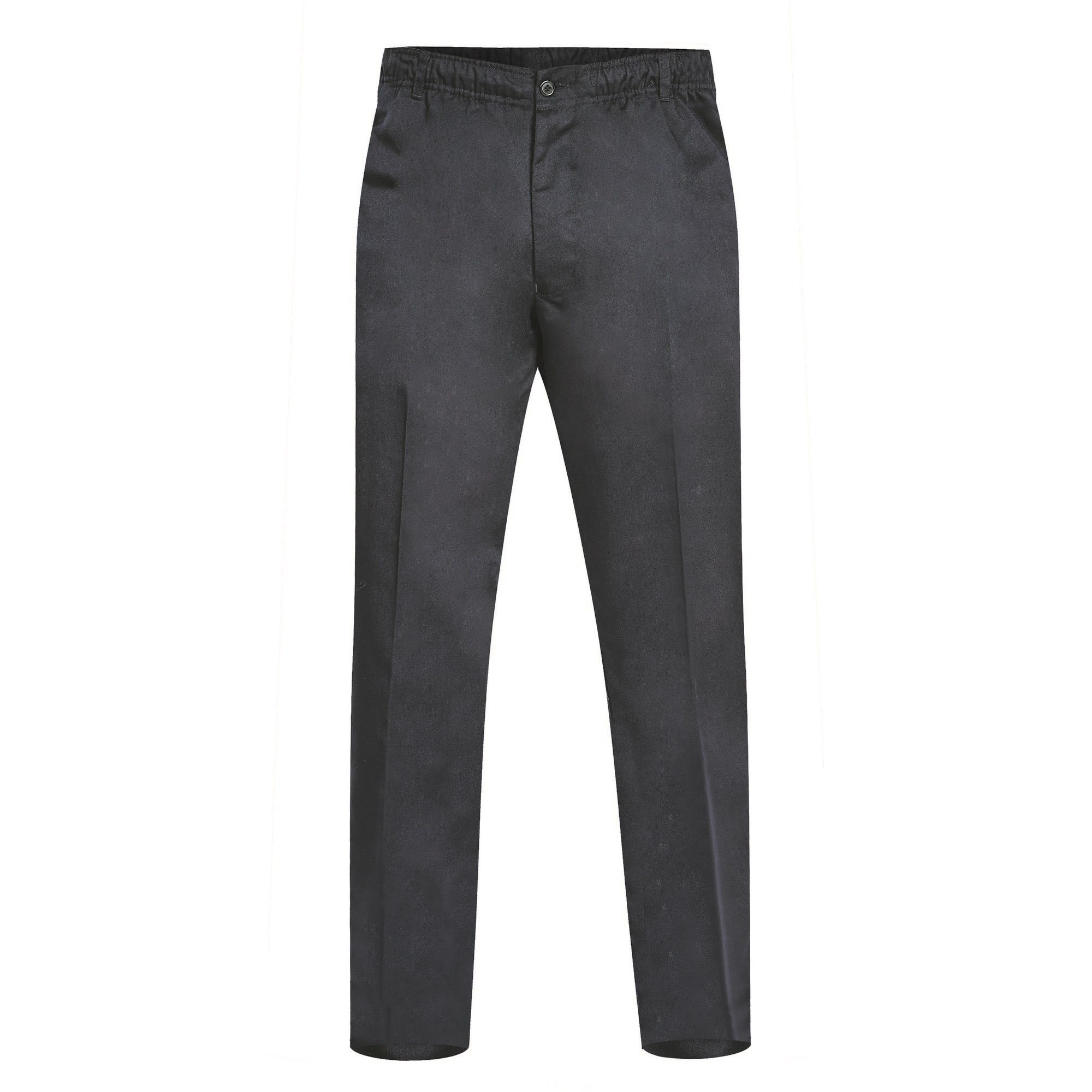 Duke Mens Basilio D555 Full Elastic Waist Rugby Trousers (32S) (Black)