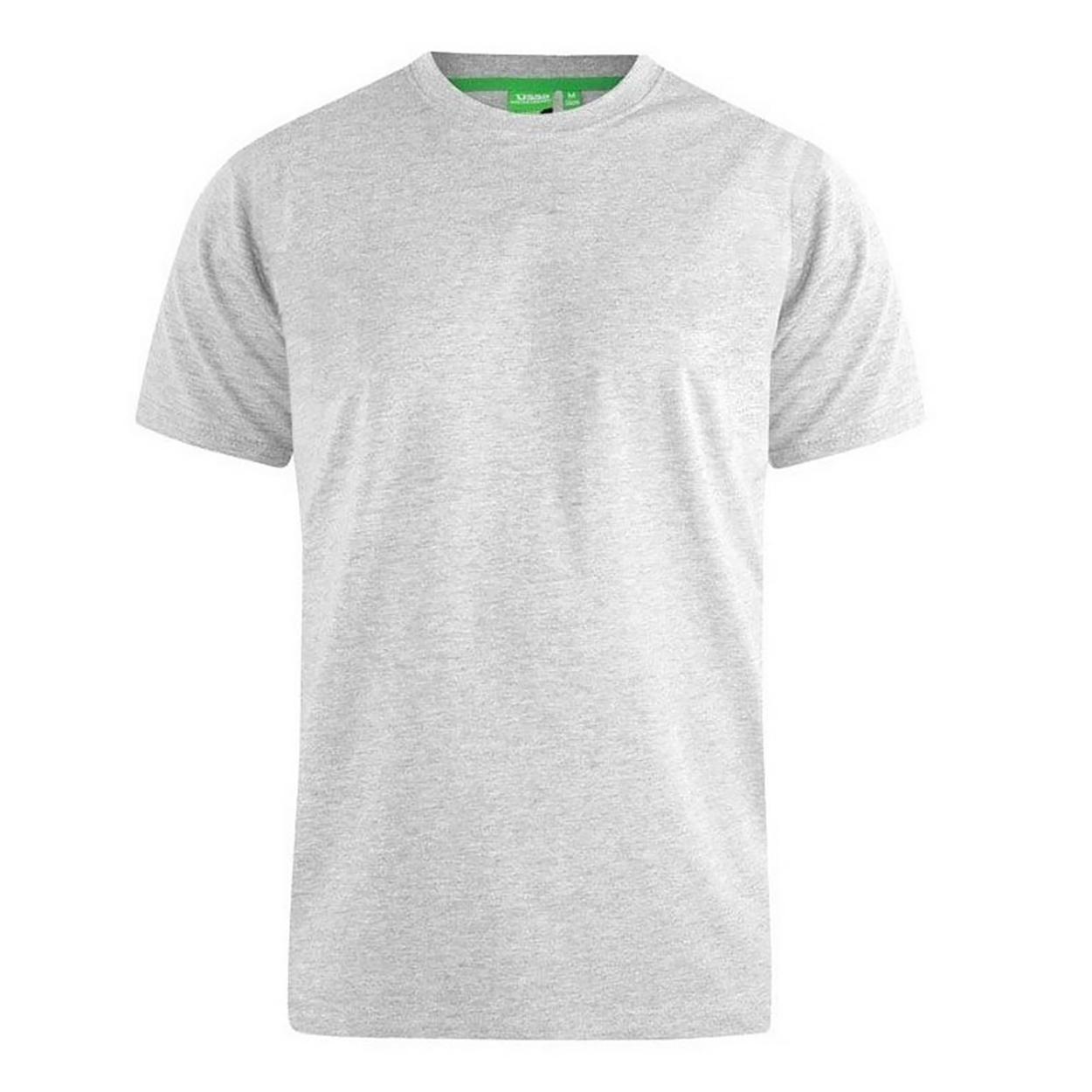 Duke Mens Flyers-1 Crew Neck T-Shirt (L) (Grey Melange)