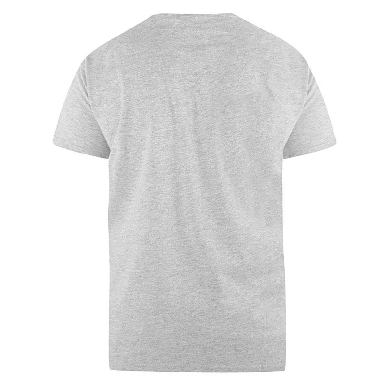 Duke Mens Signature-1 V-Neck T-Shirt (XXL) (White)