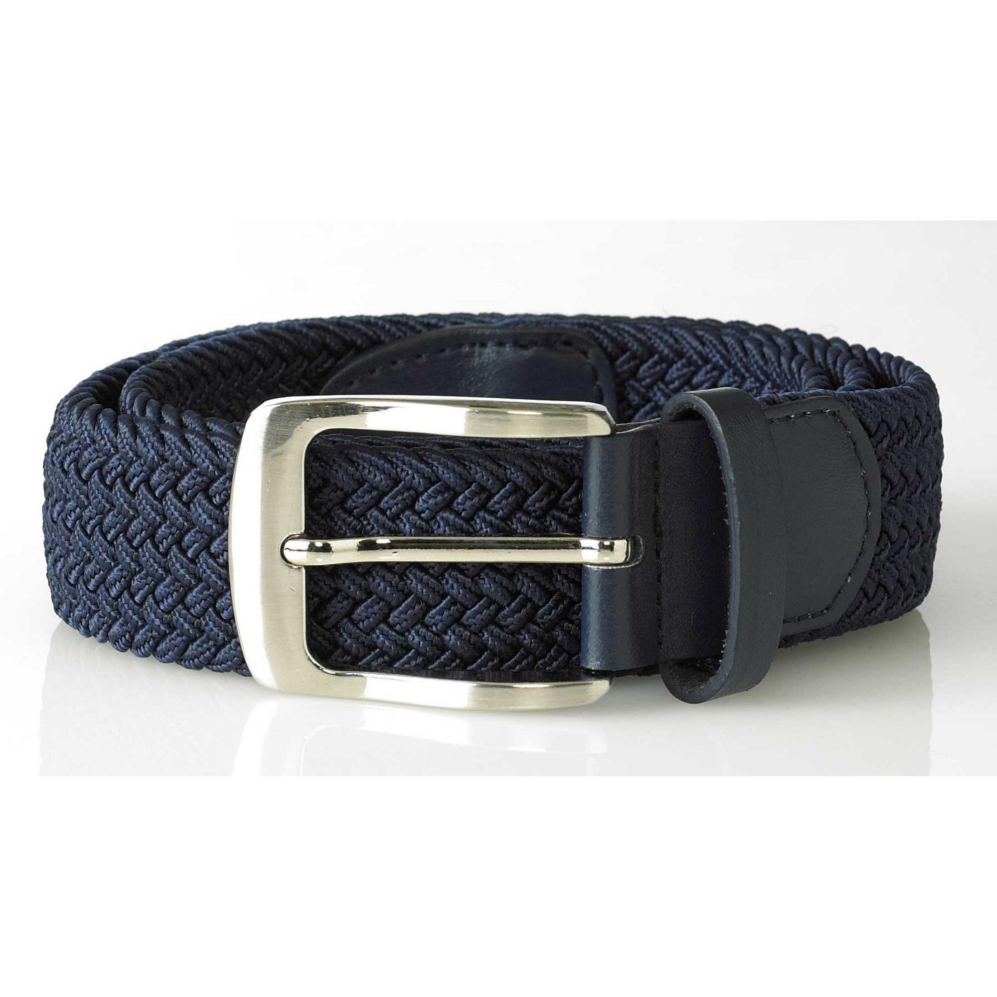 DC186 Duke Mens Dani King Size Stretch Braided Belt