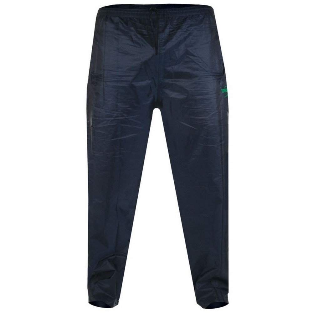 Duke Mens Elba Kingsize D555 Packaway Rain Over Trousers (7XL) (Navy)