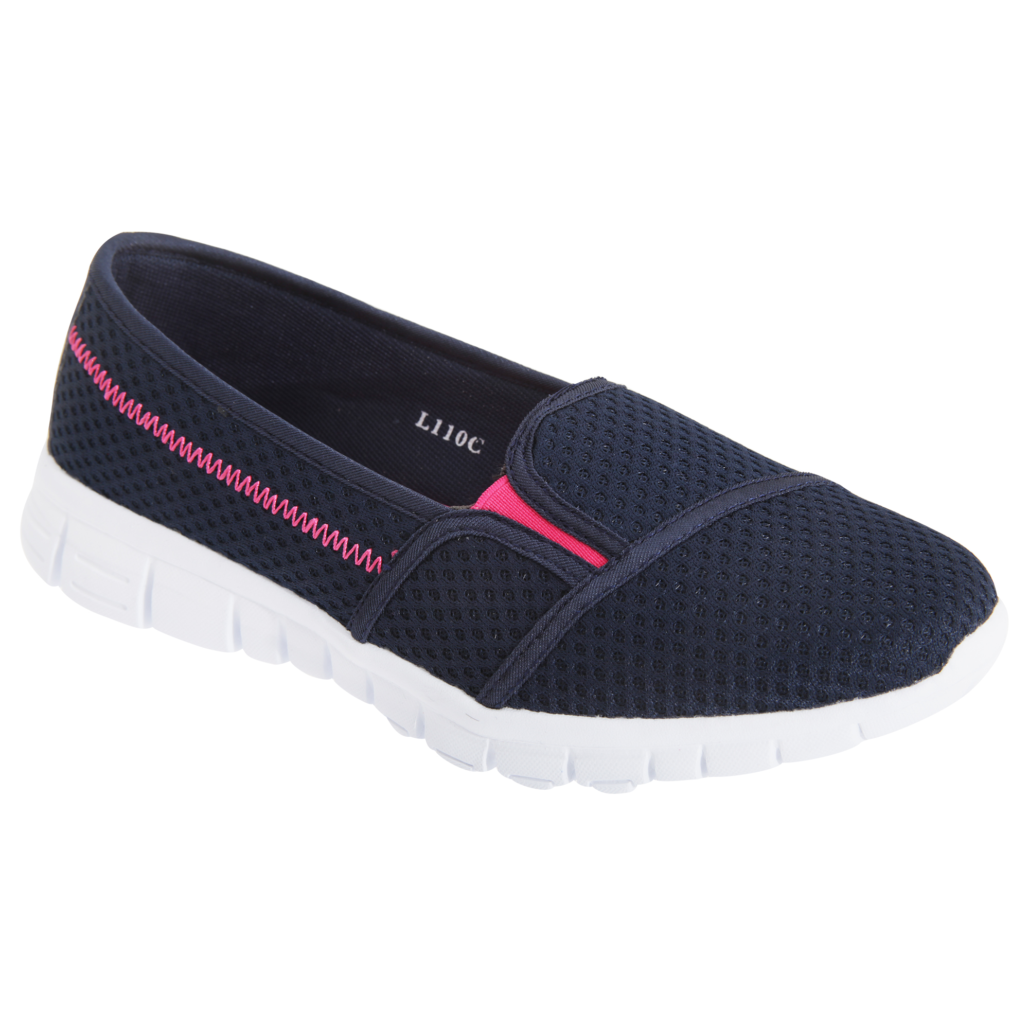 Faded Glory Memory Foam Womens Flats Shoes