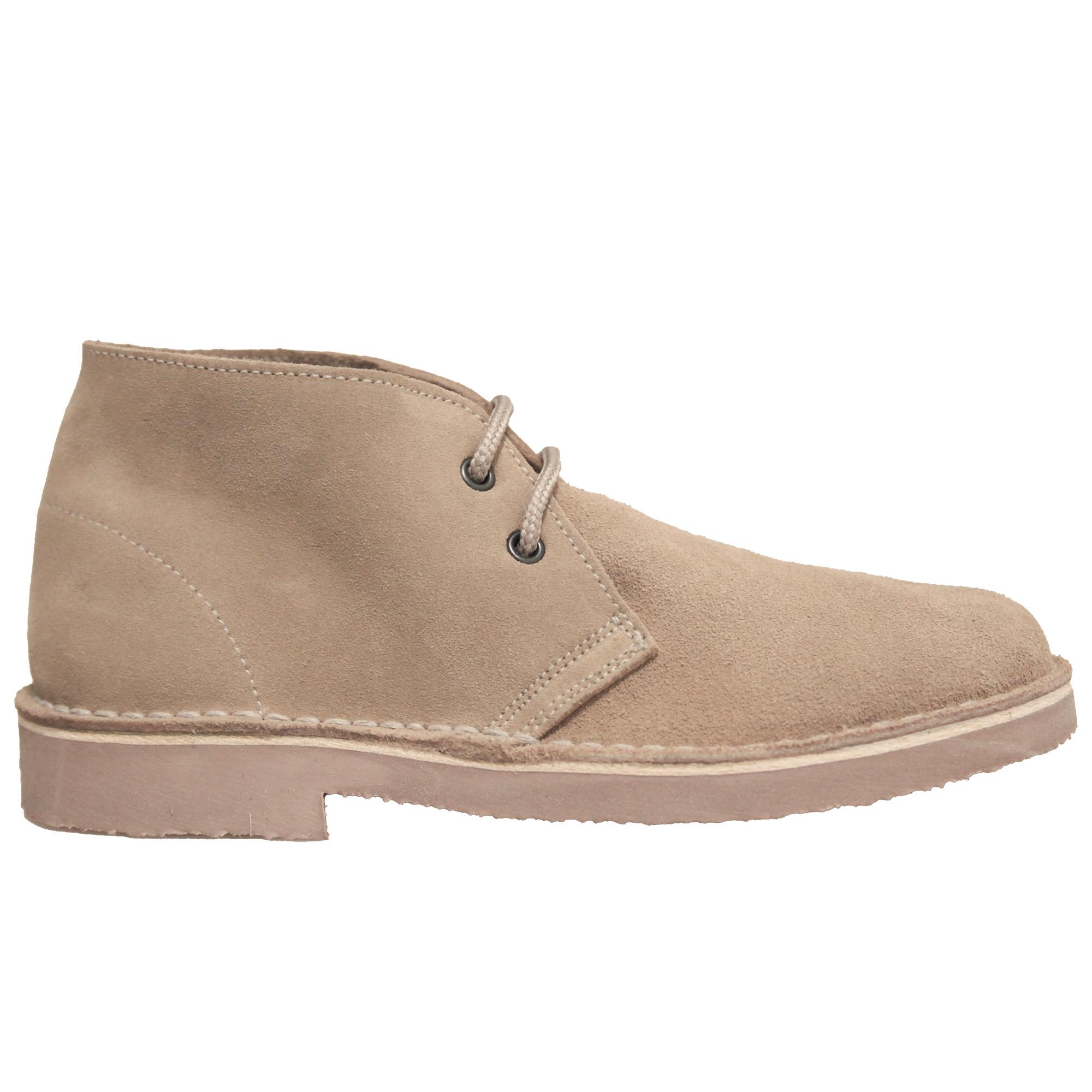 Roamers Mens Real Suede Unlined Desert Boots (4 UK) (Navy)