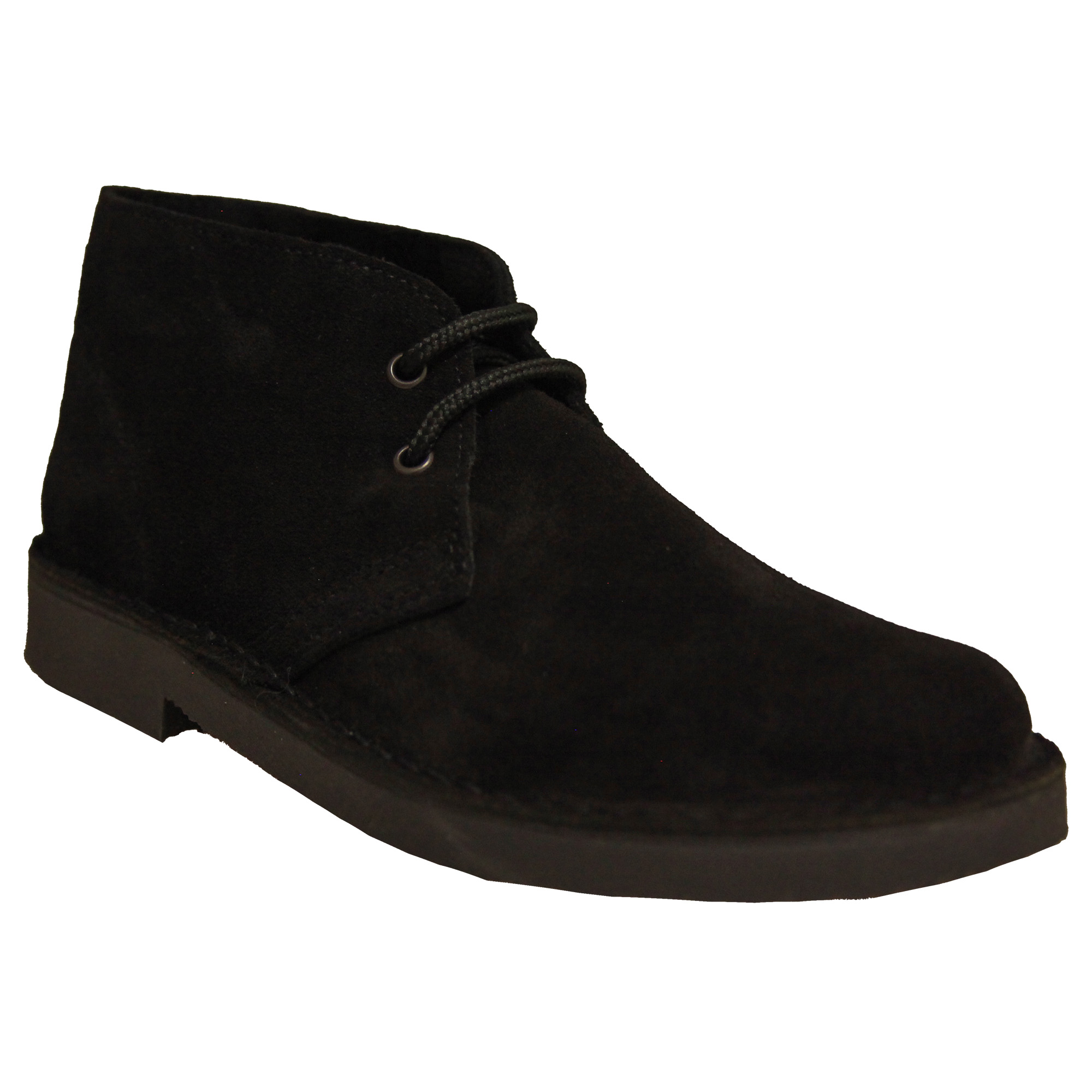 Roamers Mens Real Suede Unlined Desert Boots (4 UK) (Stone)