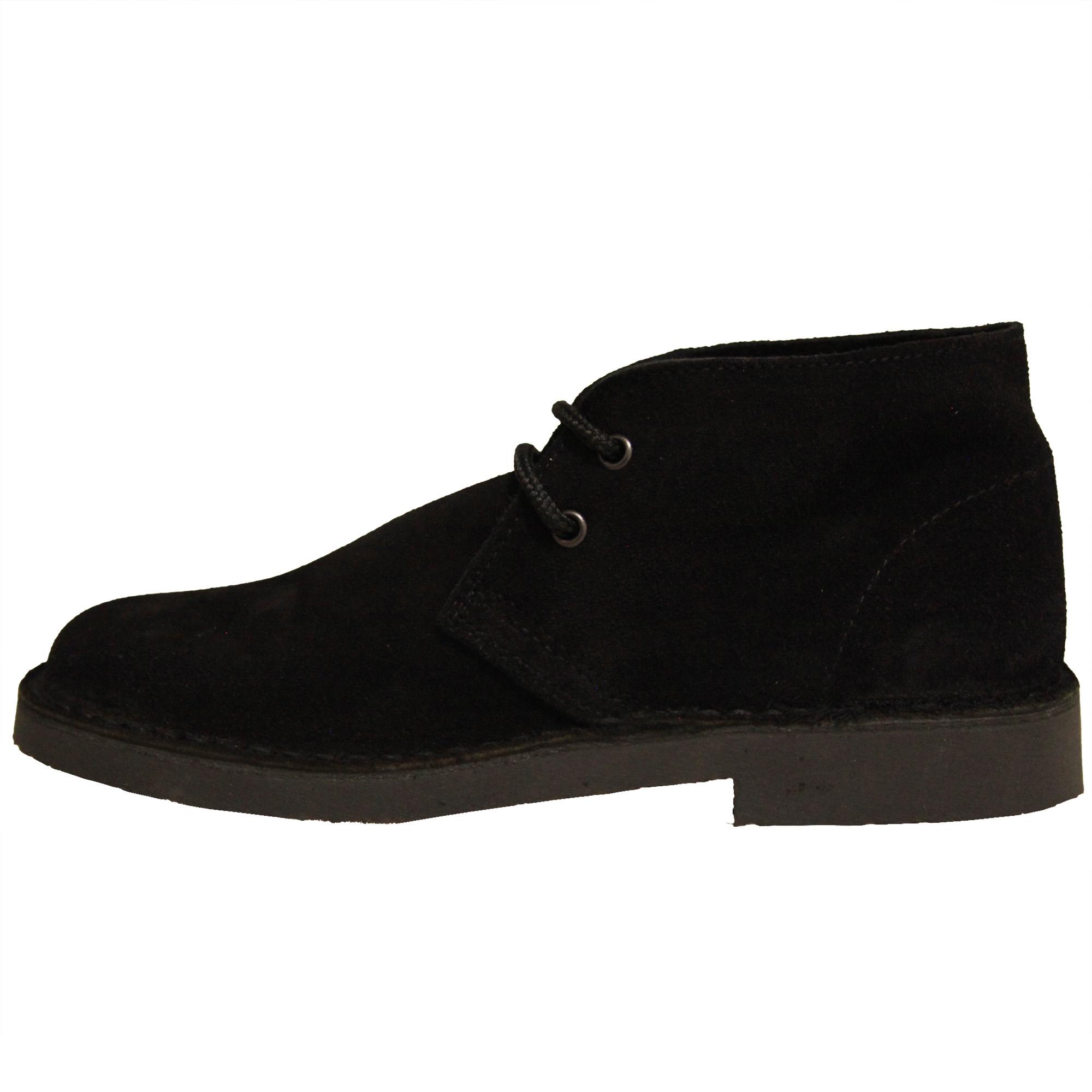 Roamers Mens Real Suede Unlined Desert Boots (6 UK) (Grey)